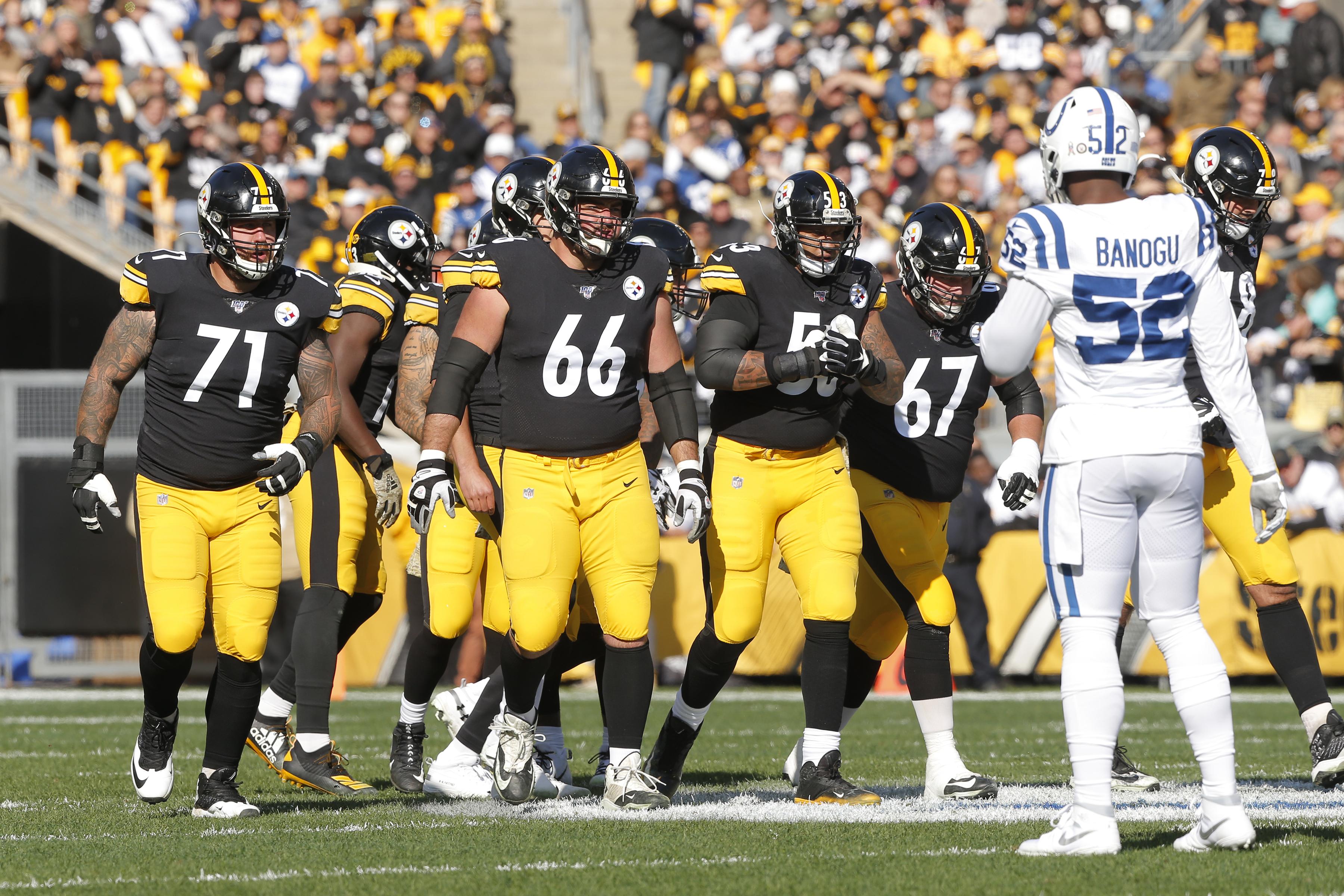 NFL: NOV 03 Colts at Steelers