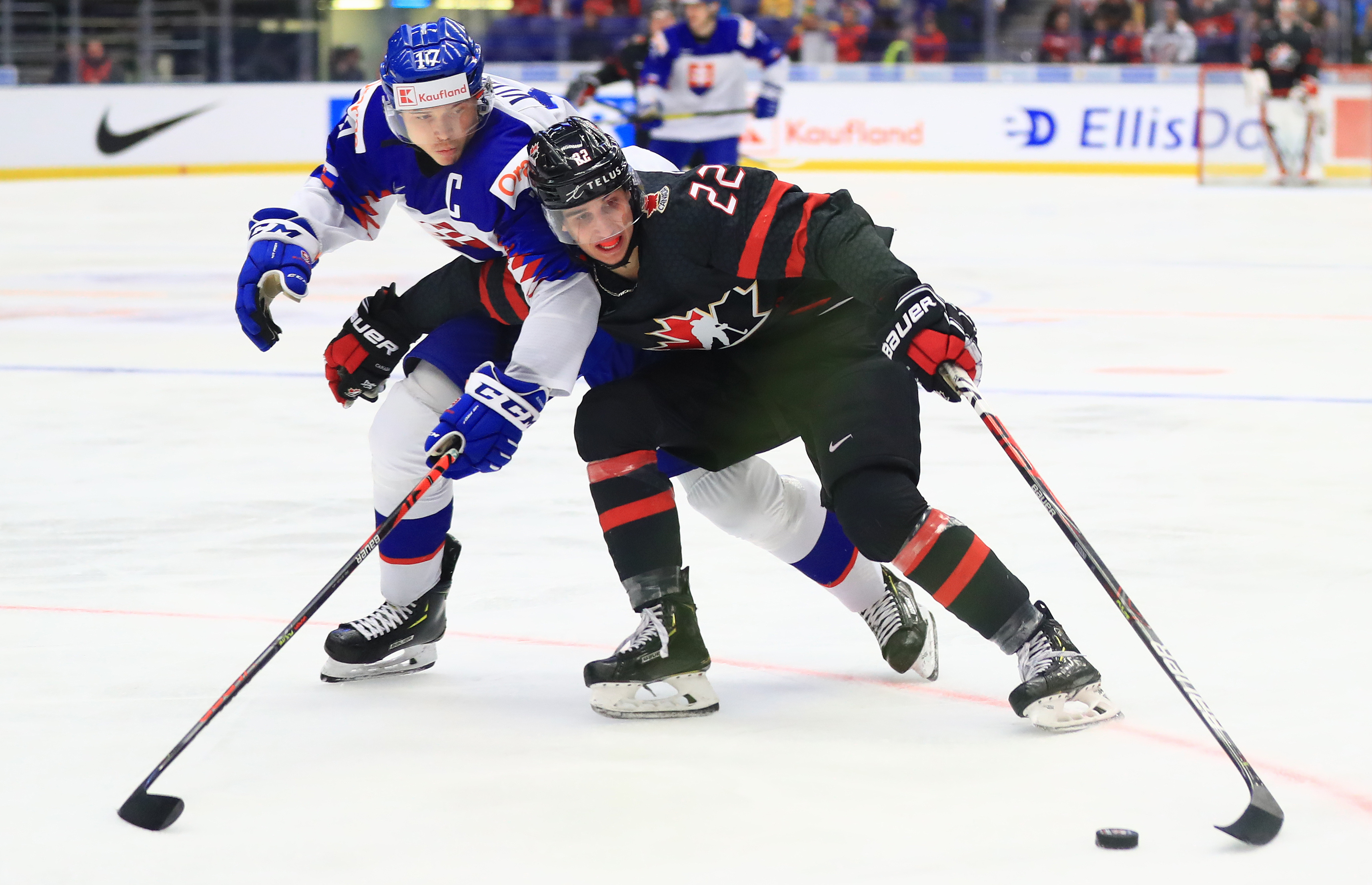 2020 IIHF World U20 Championship, quarter-finals: Canada vs Slovakia