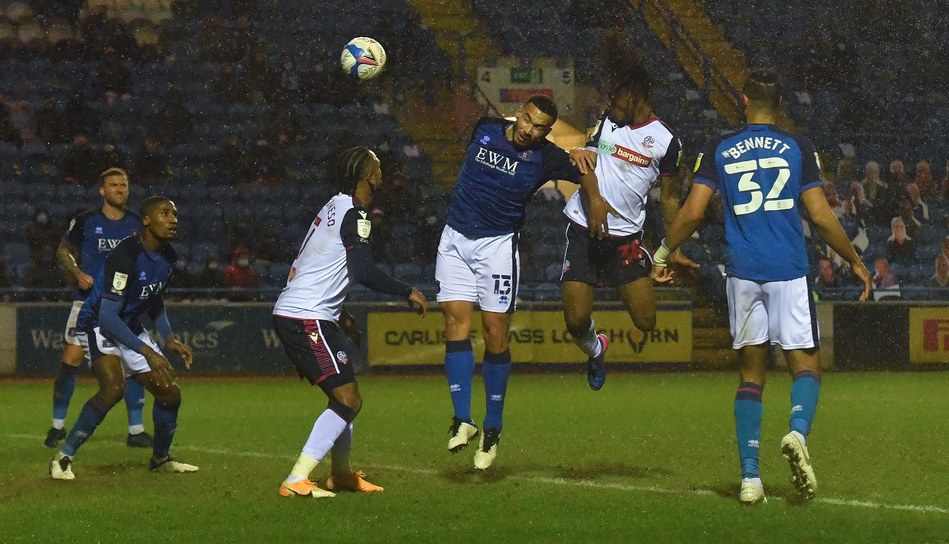 Carlisle United v Bolton Wanderers - Sky Bet League Two