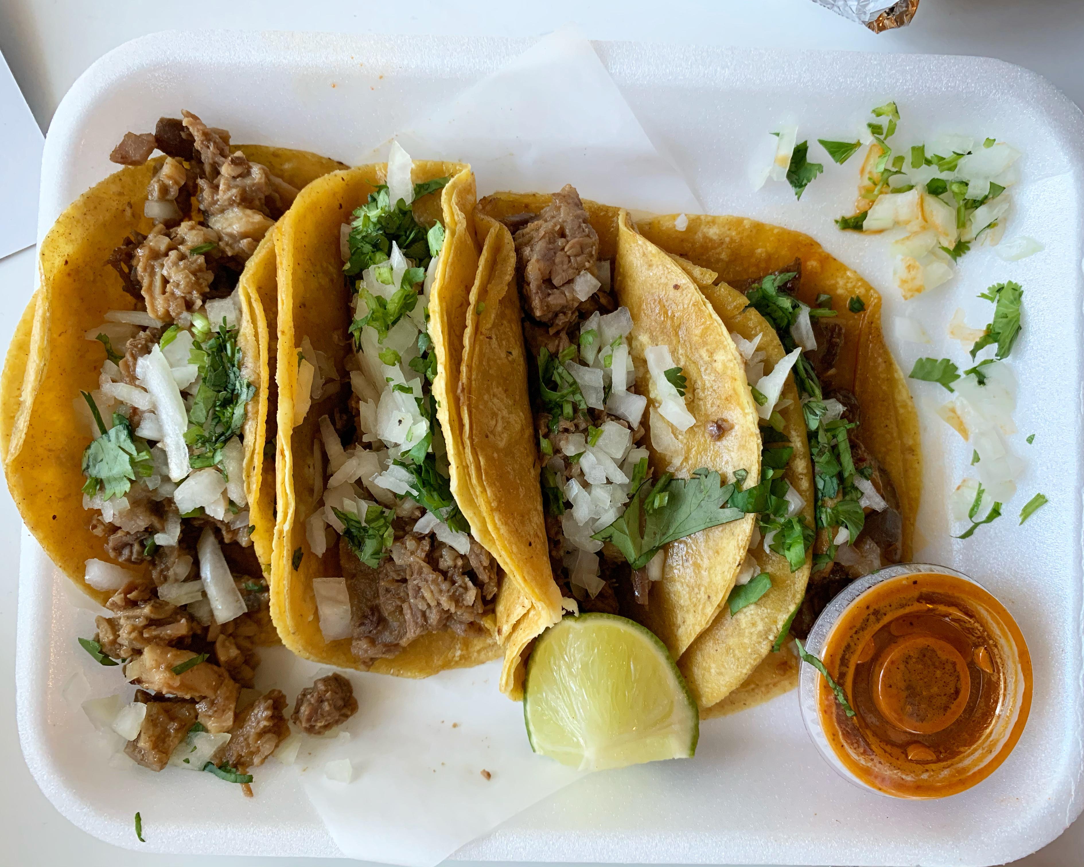 Tacos from Cuantos Tacos