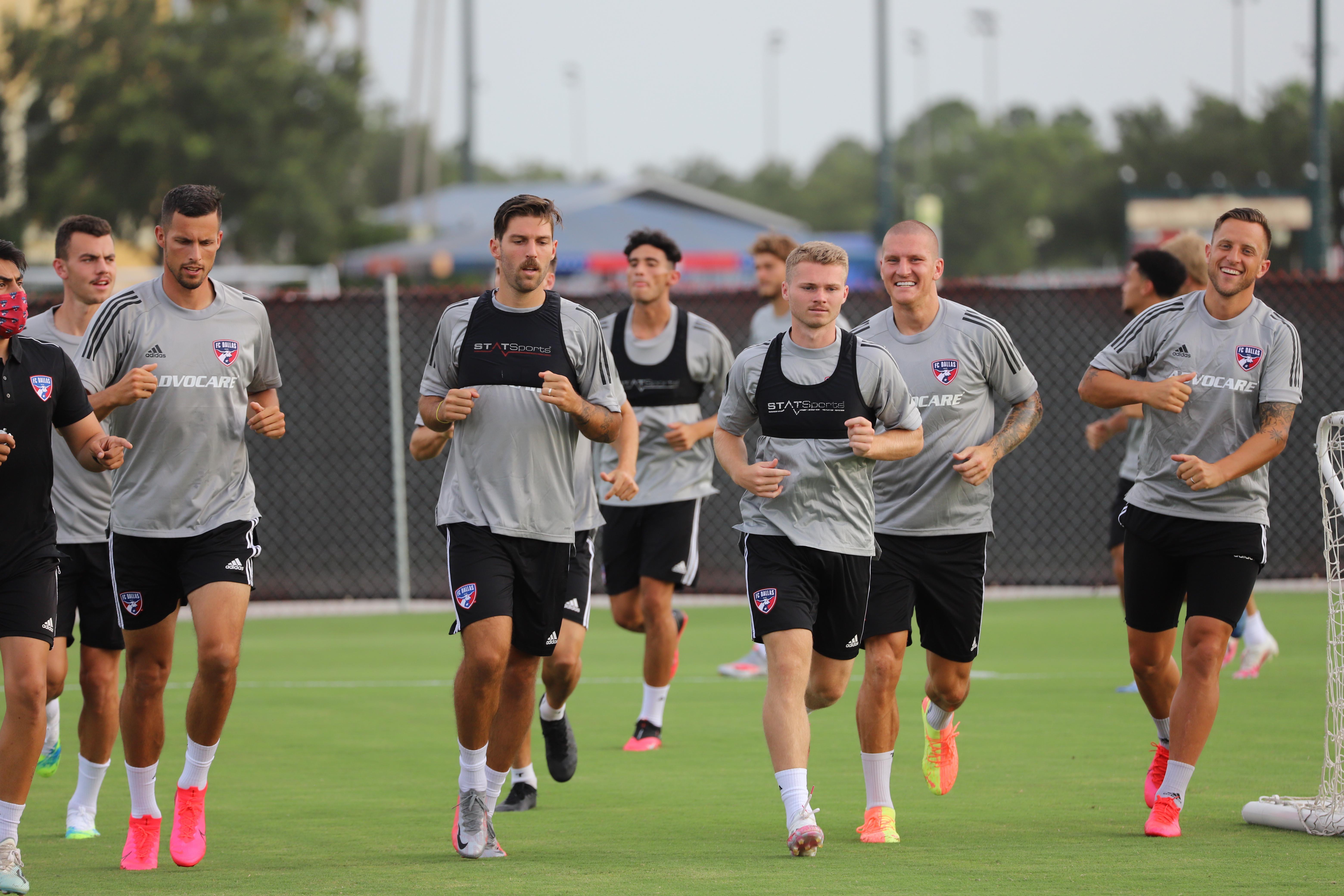 MLS: FC Dallas Training