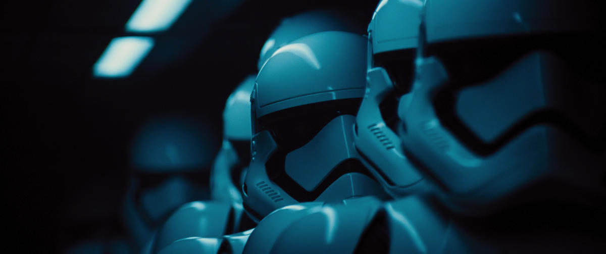 """Stormtroopers in """"Star Wars: The Force Awakens."""""""