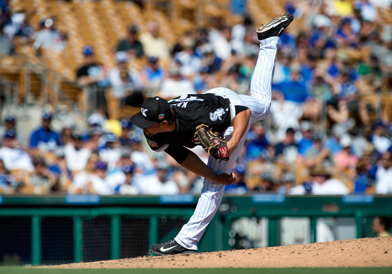 MLB: MAR 19 Spring Training - Dodgers at White Sox