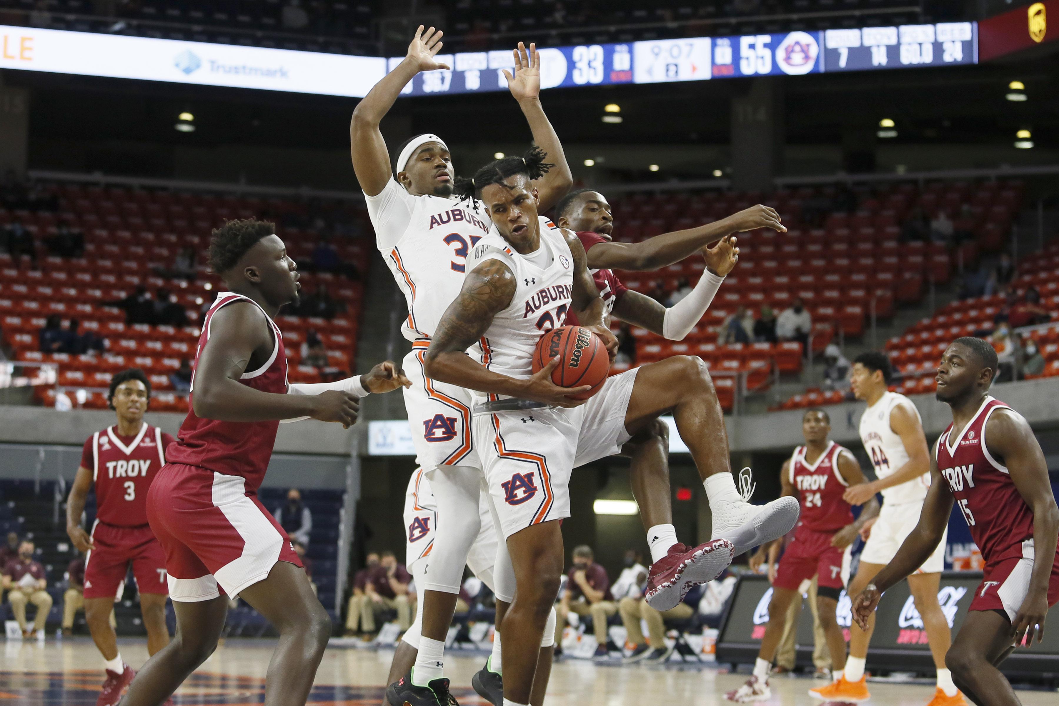 NCAA Basketball: Troy at Auburn