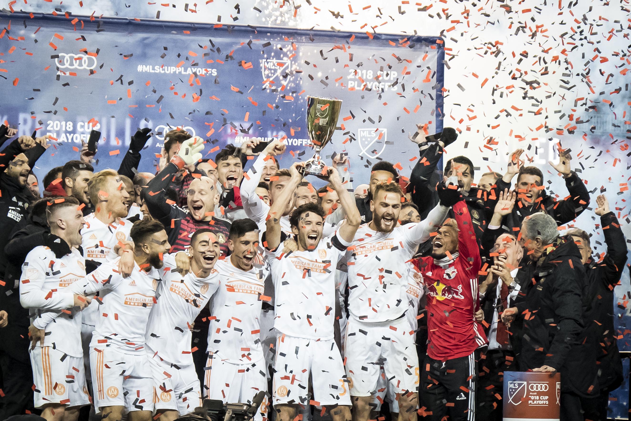 New York Red Bulls v Atlanta United: MLS Cup Eastern Conference Final Leg 2