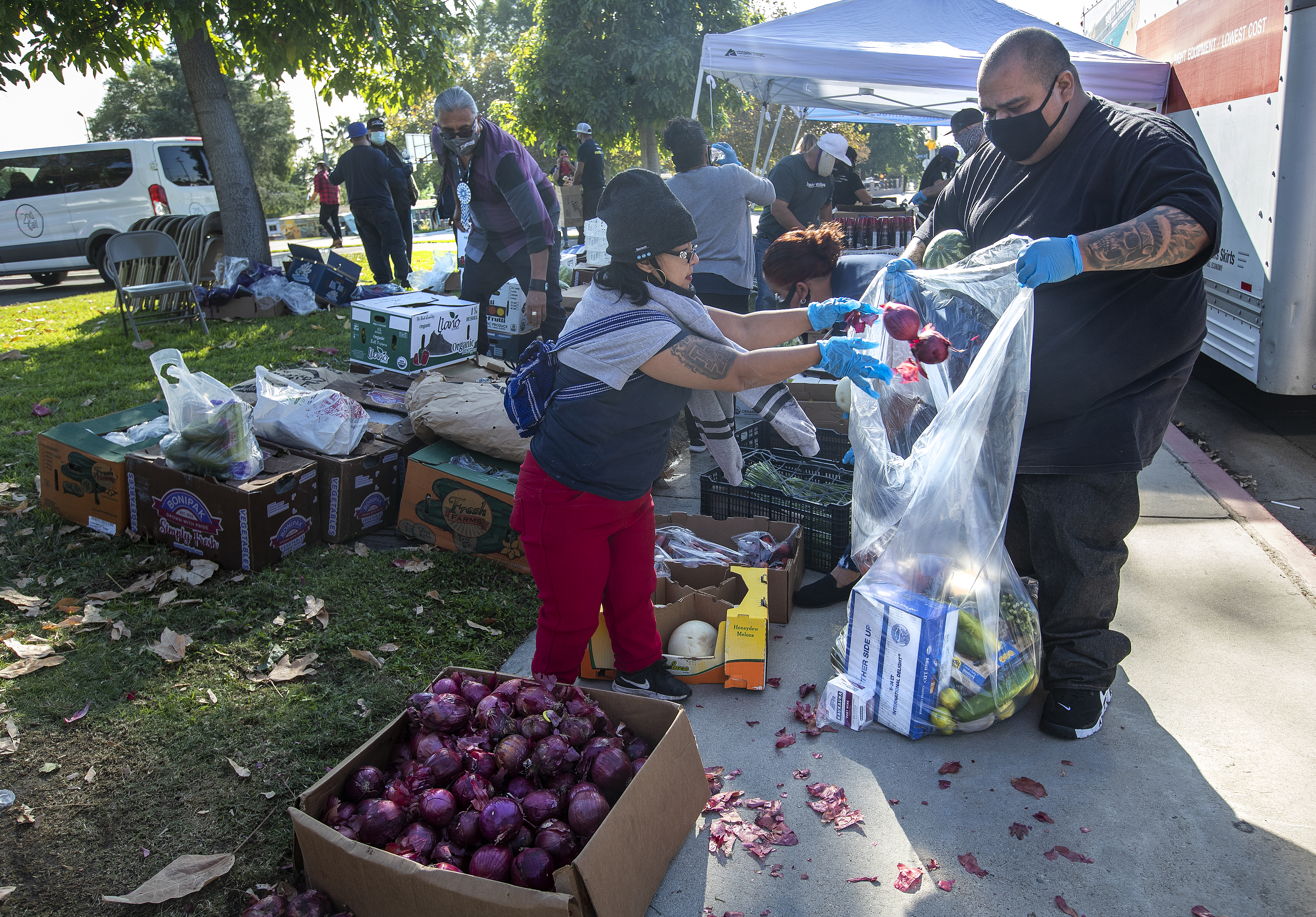 Free food event for those in need