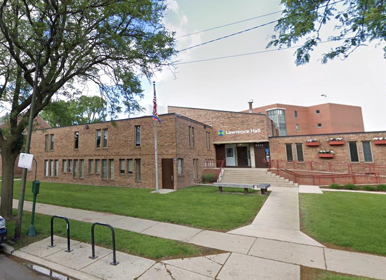 Lawrence Hall at 4833 N Francisco Ave.