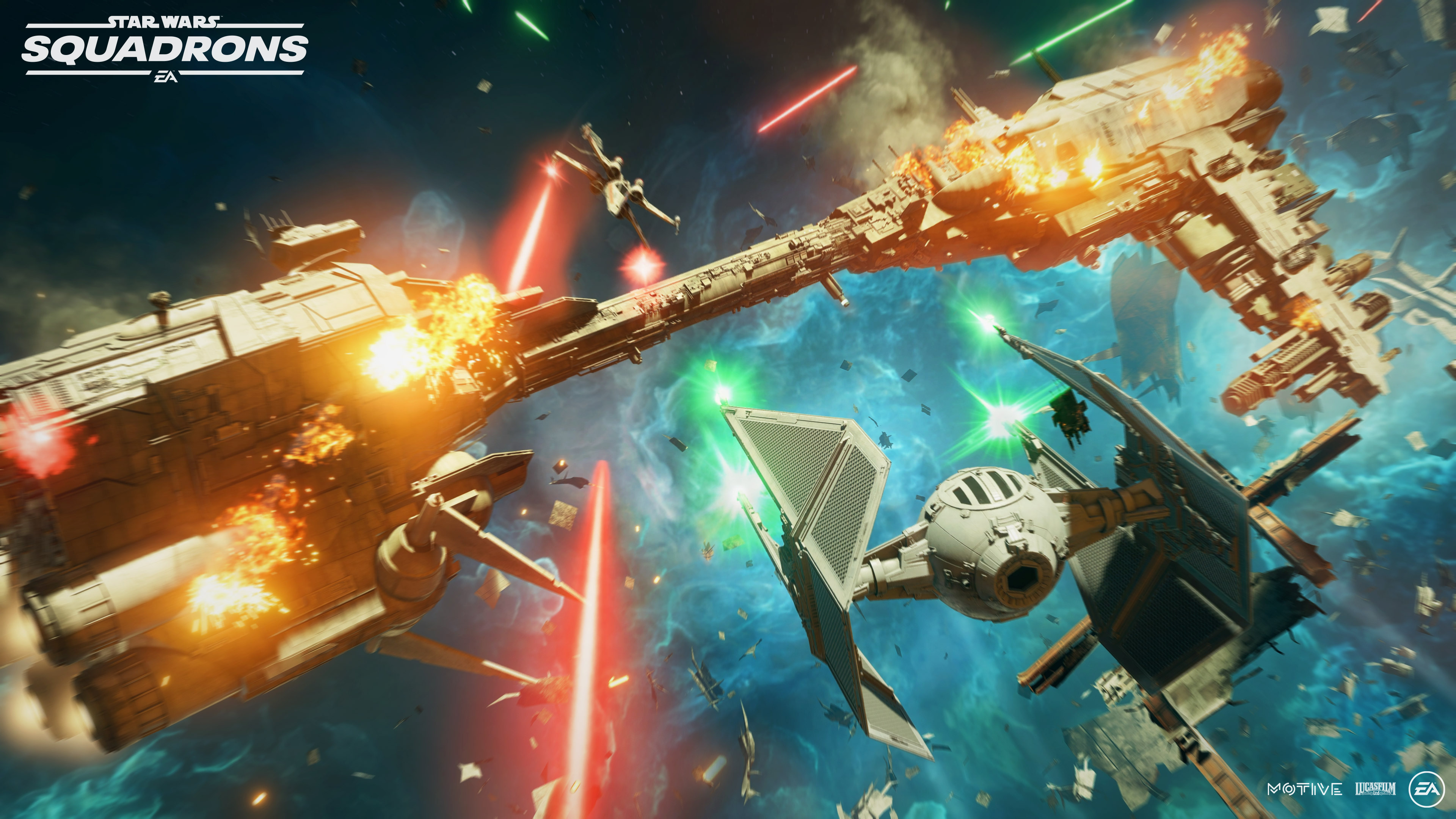 """A screenshot from """"Star Wars: Squadrons."""""""