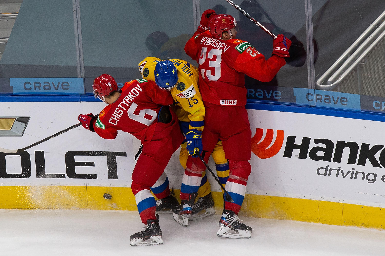 Russia v Sweden: Preliminary Round Group B - 2021 IIHF World Junior Championship