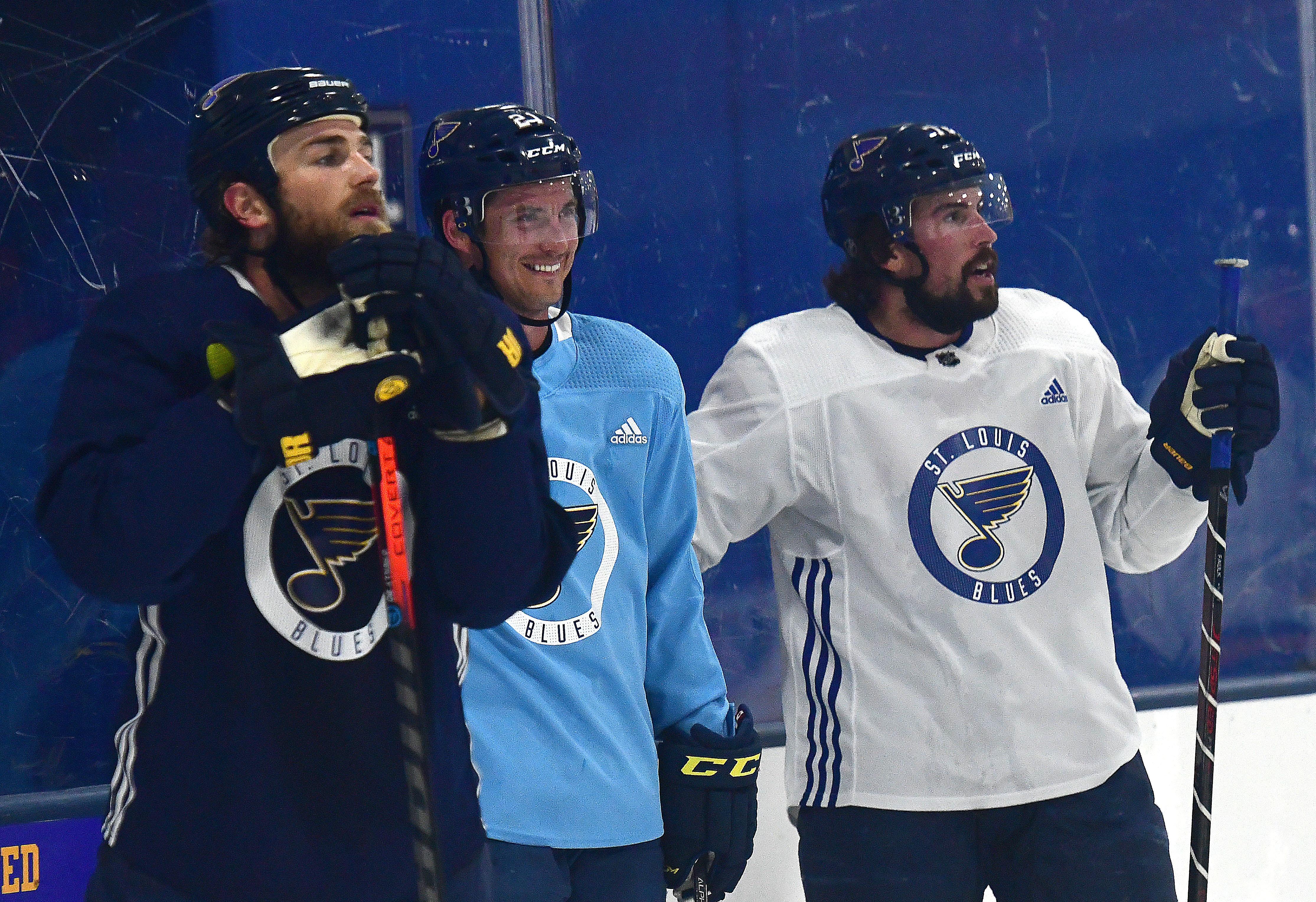 NHL: JUL 17 St. Louis Blues Training Camp