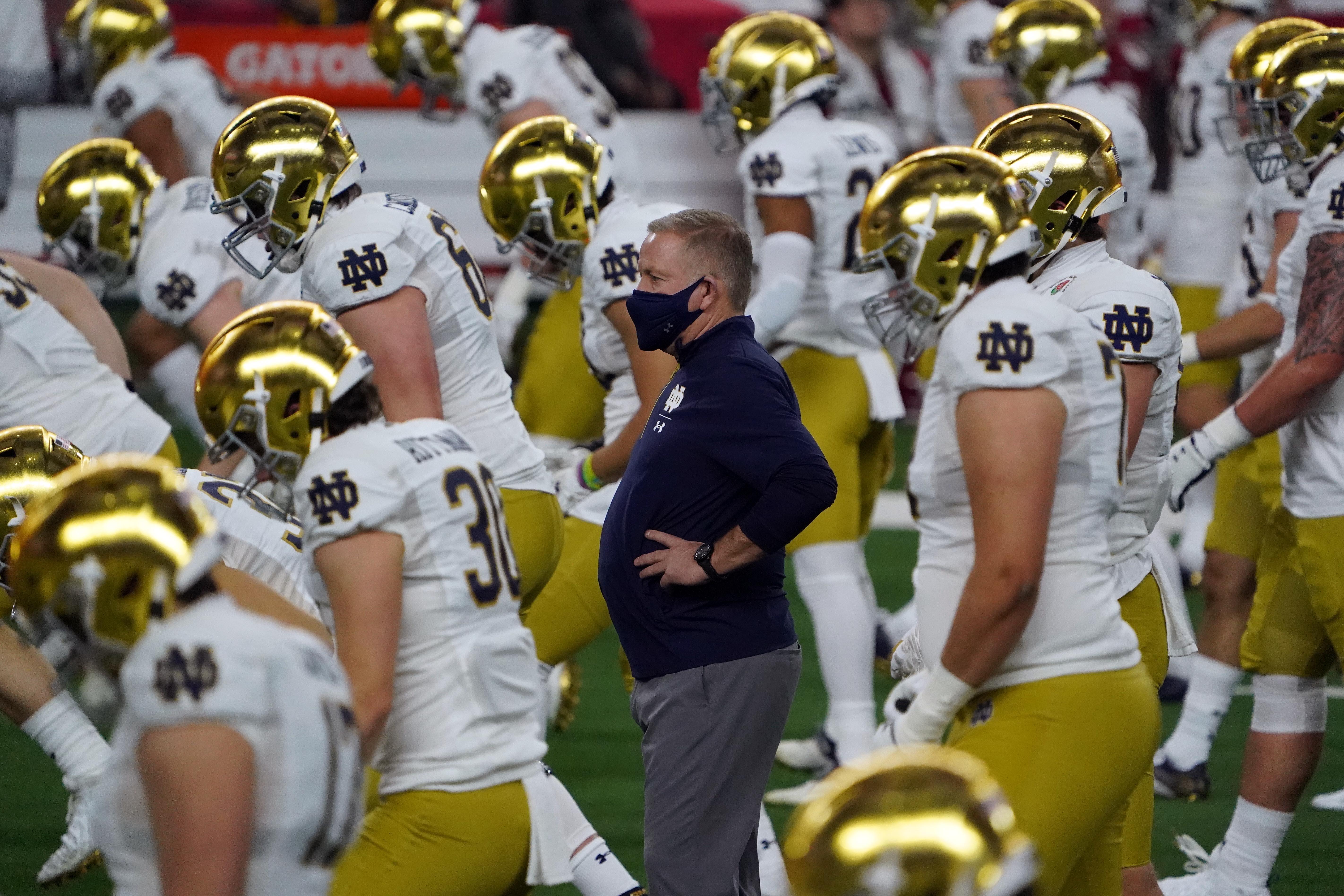 NCAA Football: Rose Bowl-Notre Dame vs Alabama