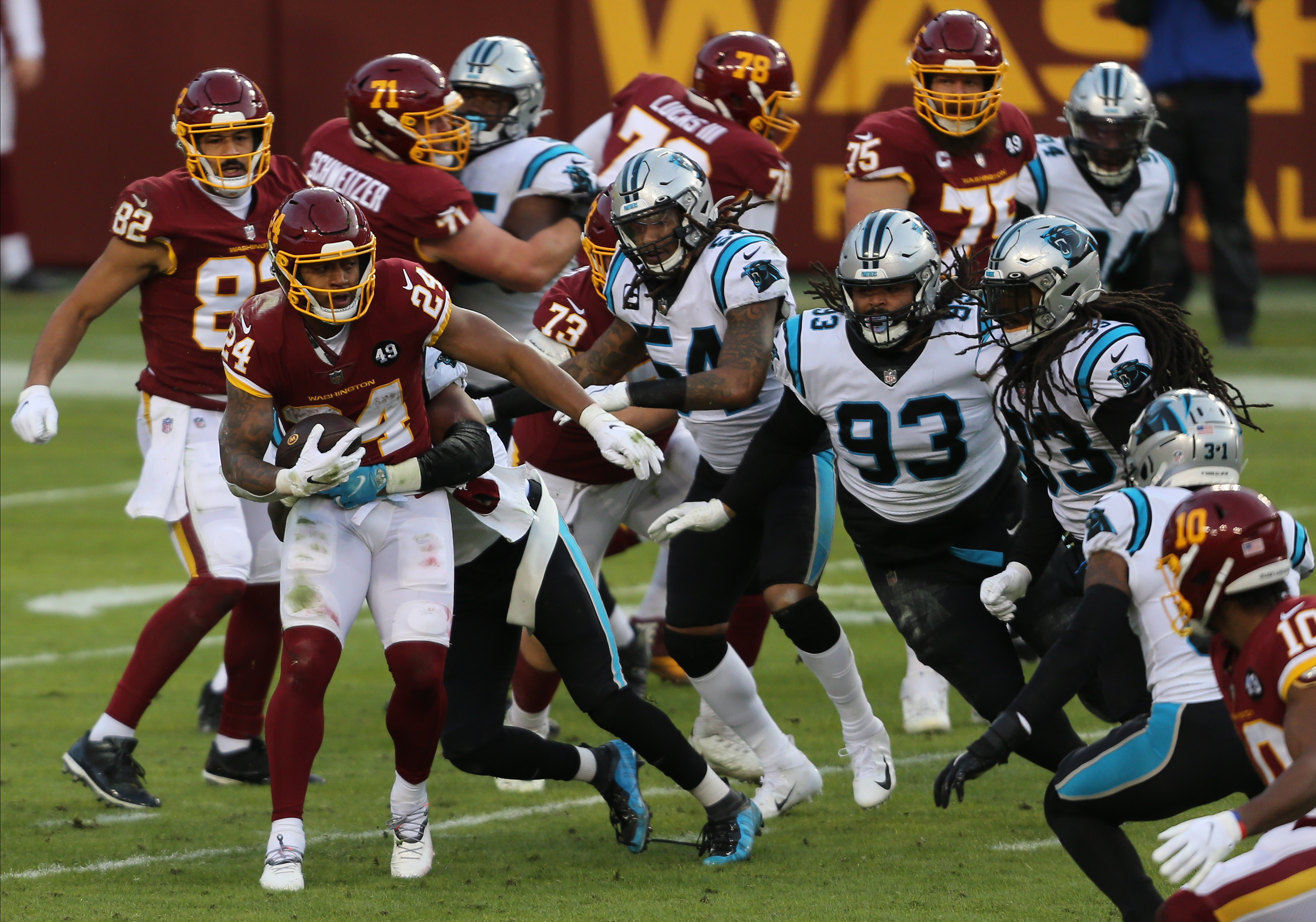 NFL: DEC 27 Panthers at Washington Football Team