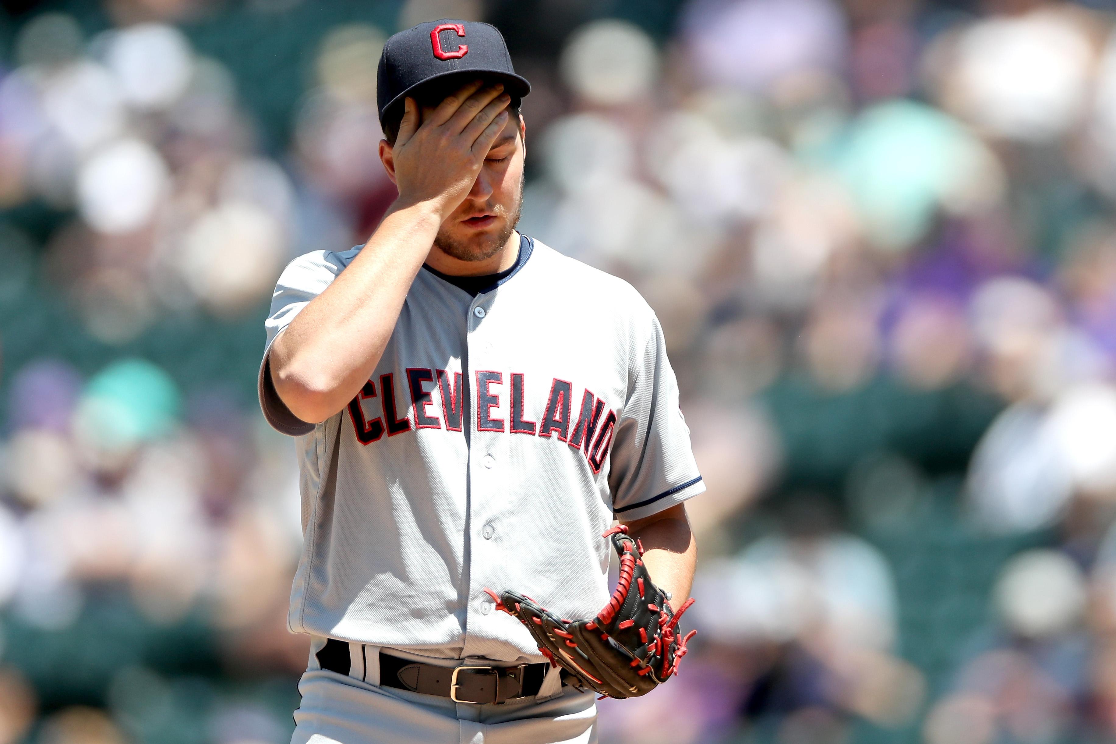 Cleveland Indians v Colorado Rockies