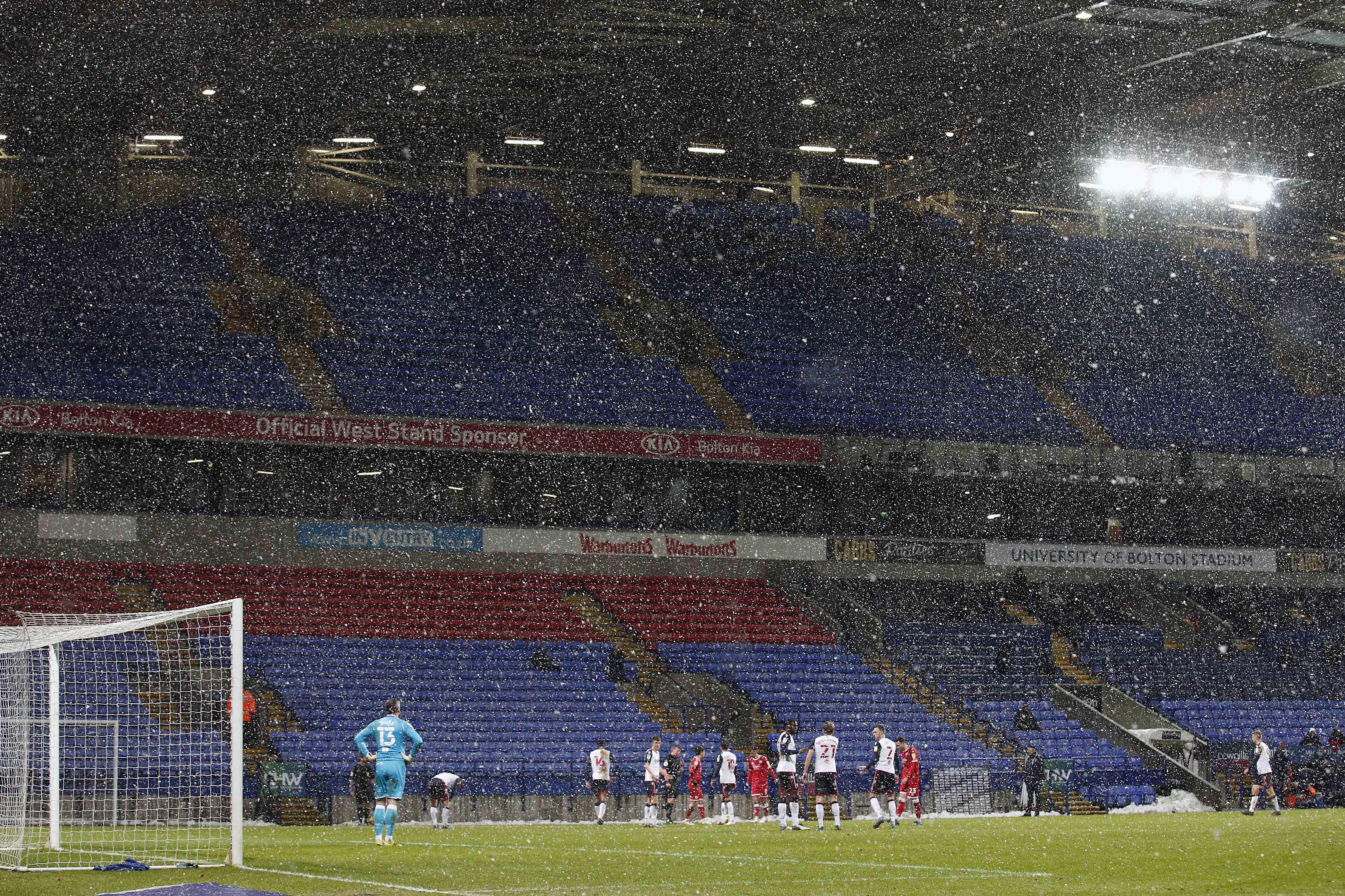 Bolton Wanderers v Crawley Town - Sky Bet League 2