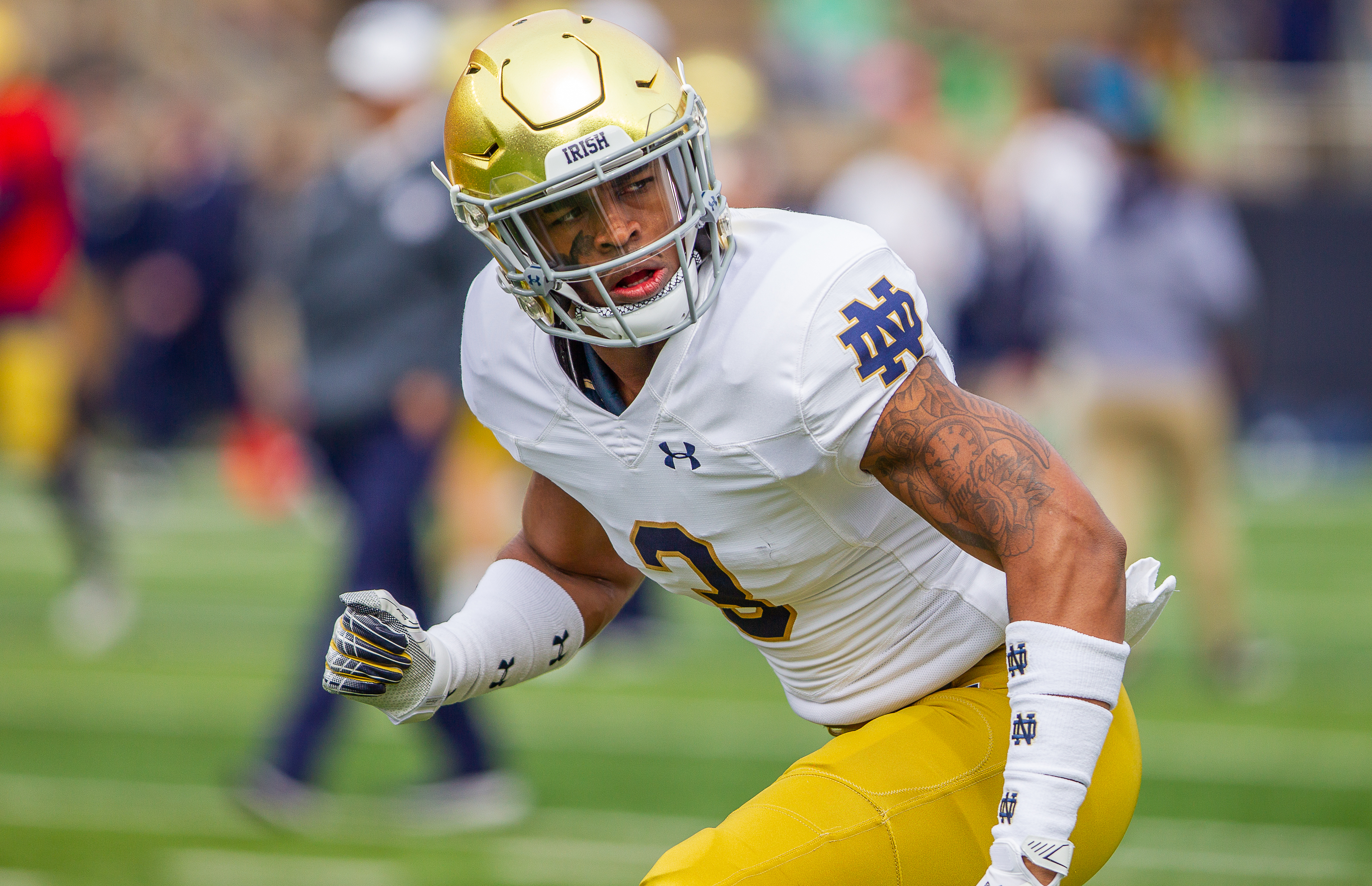 Houston Griffith notre dame football