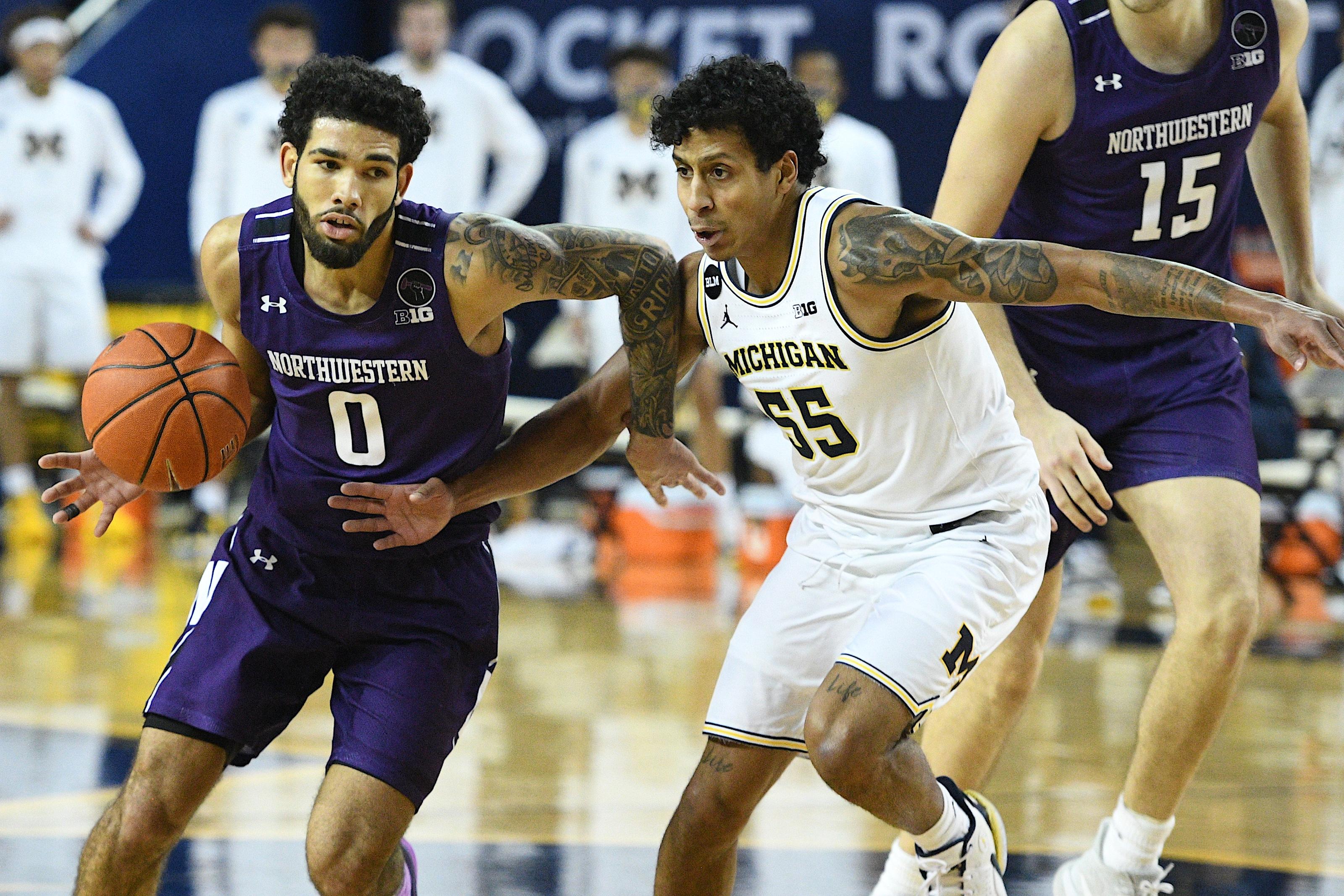 NCAA Basketball: Northwestern at Michigan