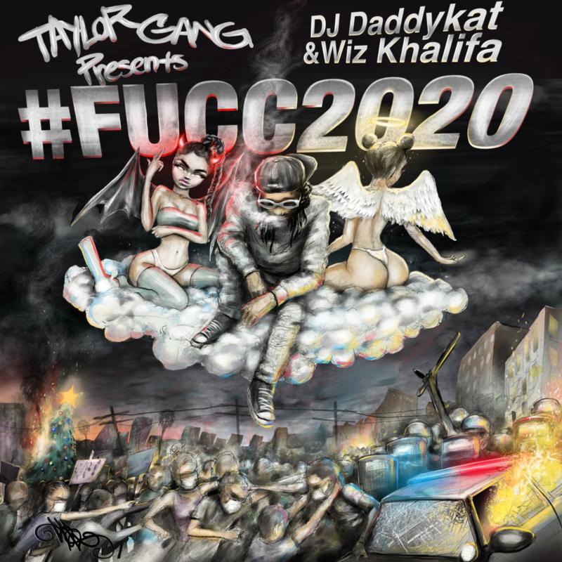 Wiz Khalifa's '#FUCC2020' artwork