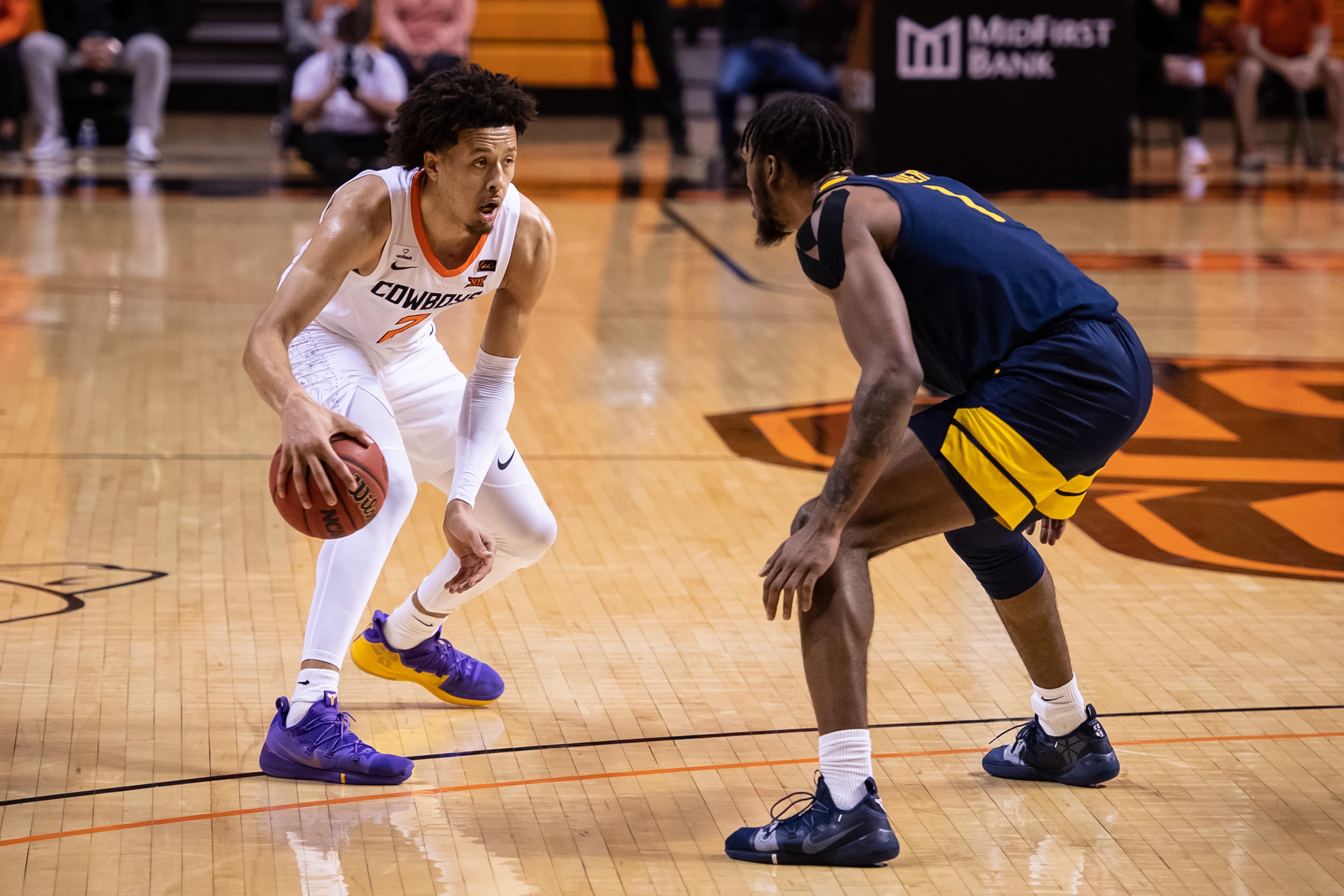 NCAA Basketball: West Virginia at Oklahoma State
