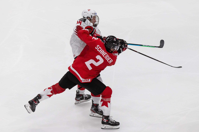 Canada v Switzerland: Preliminary Round Group A - 2021 IIHF World Junior Championship