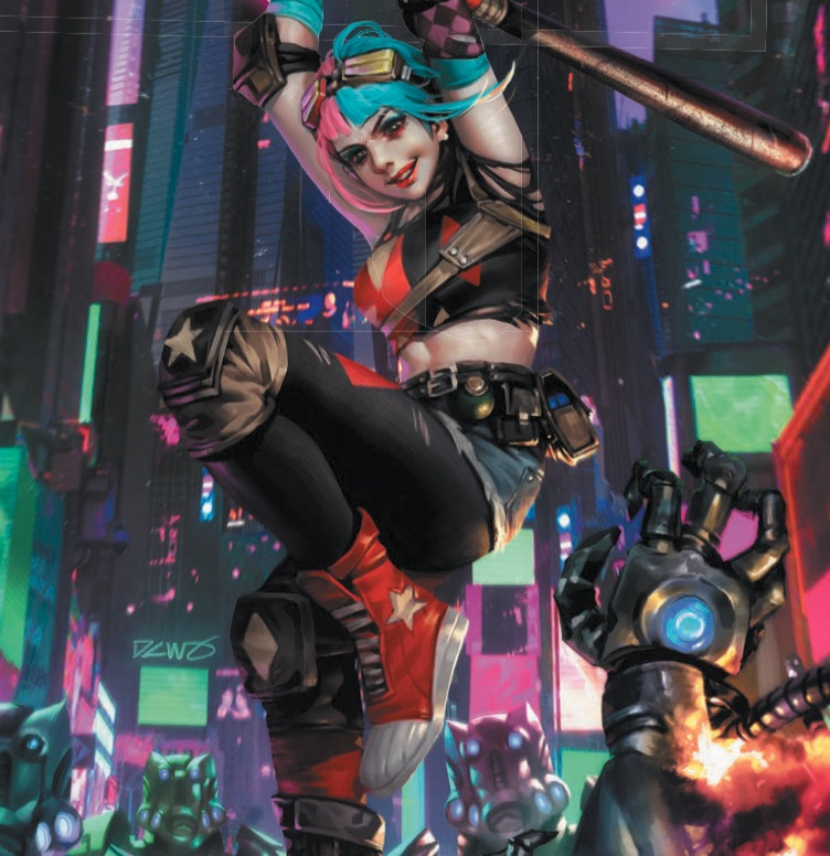 Future State: Harley Quinn #1 cover