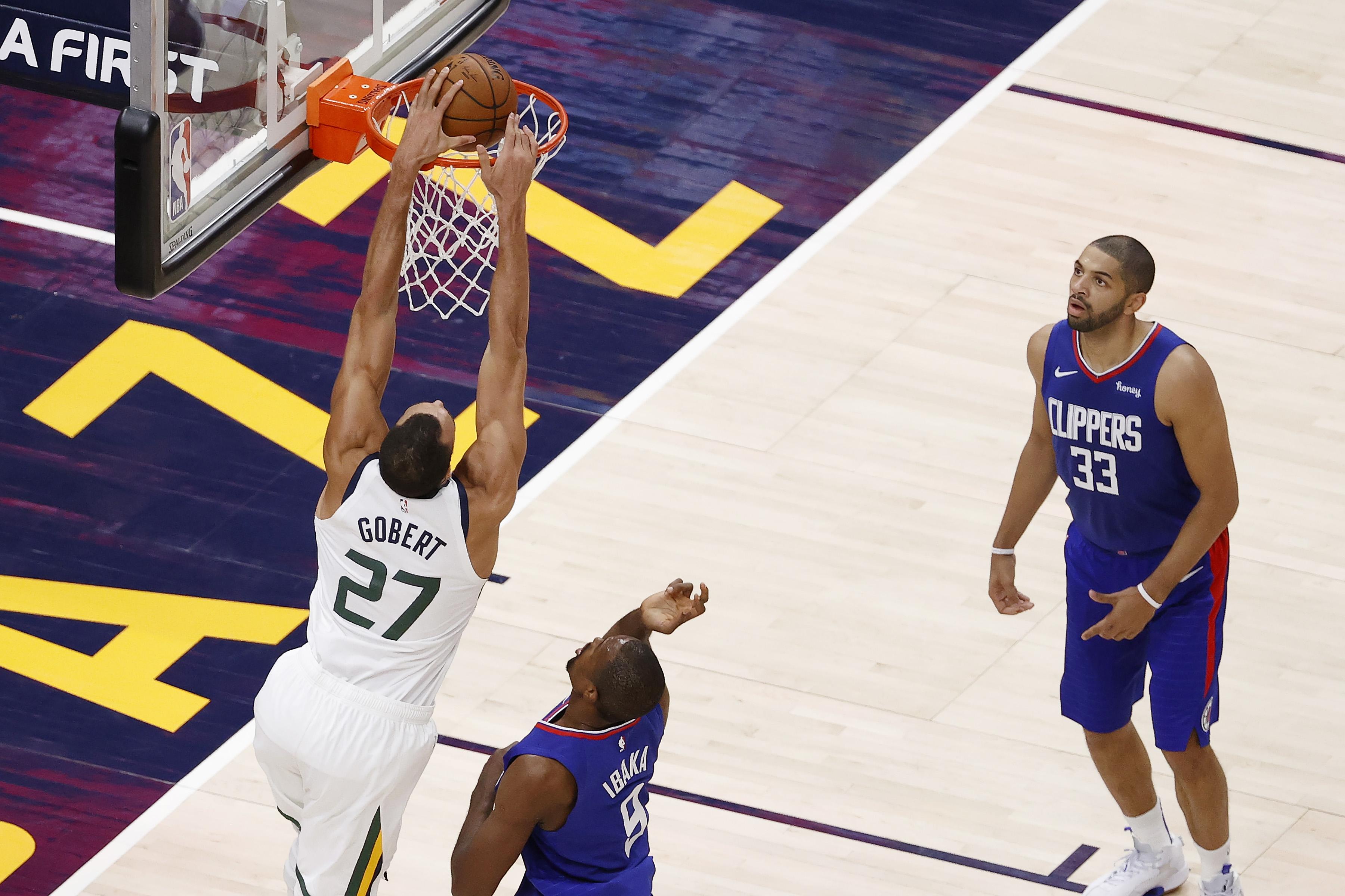 NBA: Los Angeles Clippers at Utah Jazz