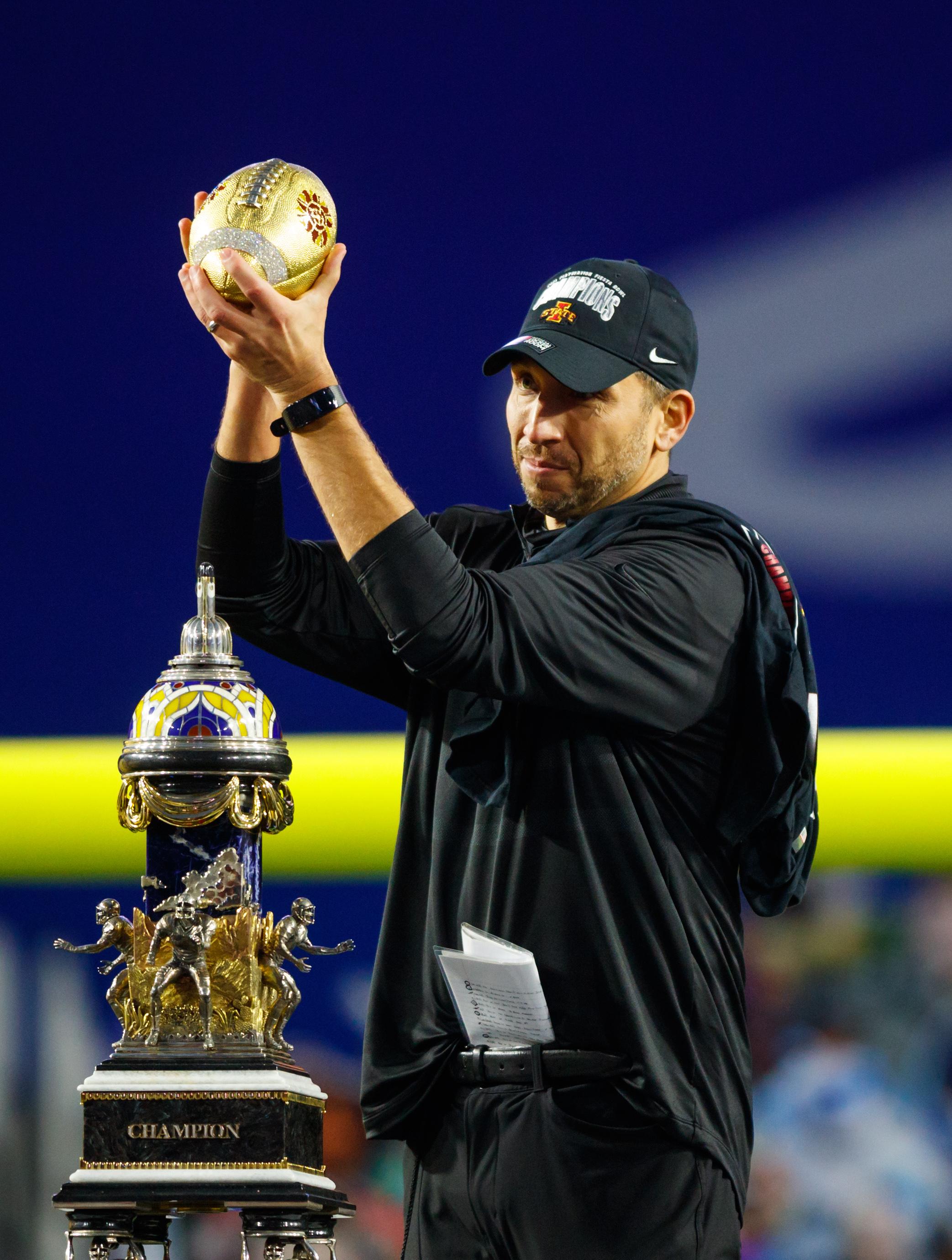 NCAA Football: Fiesta Bowl-Oregon vs Iowa State