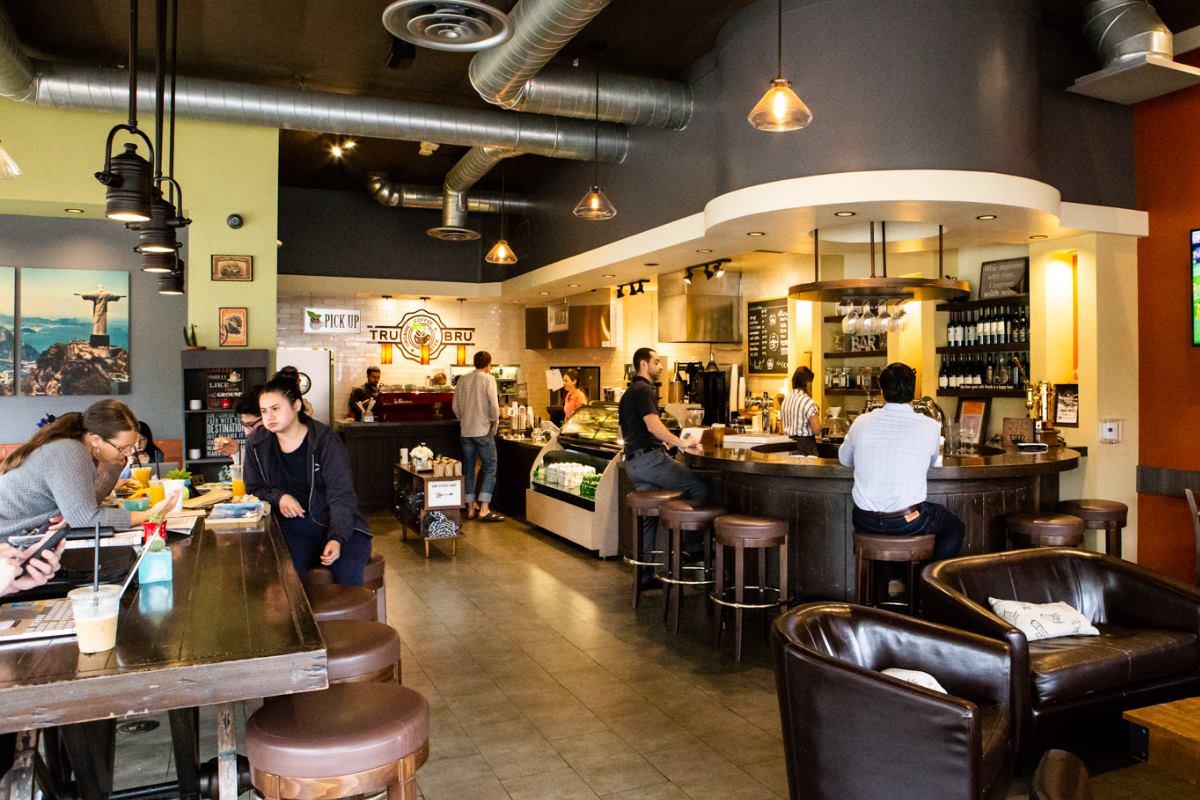 The original Orange, California home of Tru Bru Organic Coffee, expanding to Henderson soon.