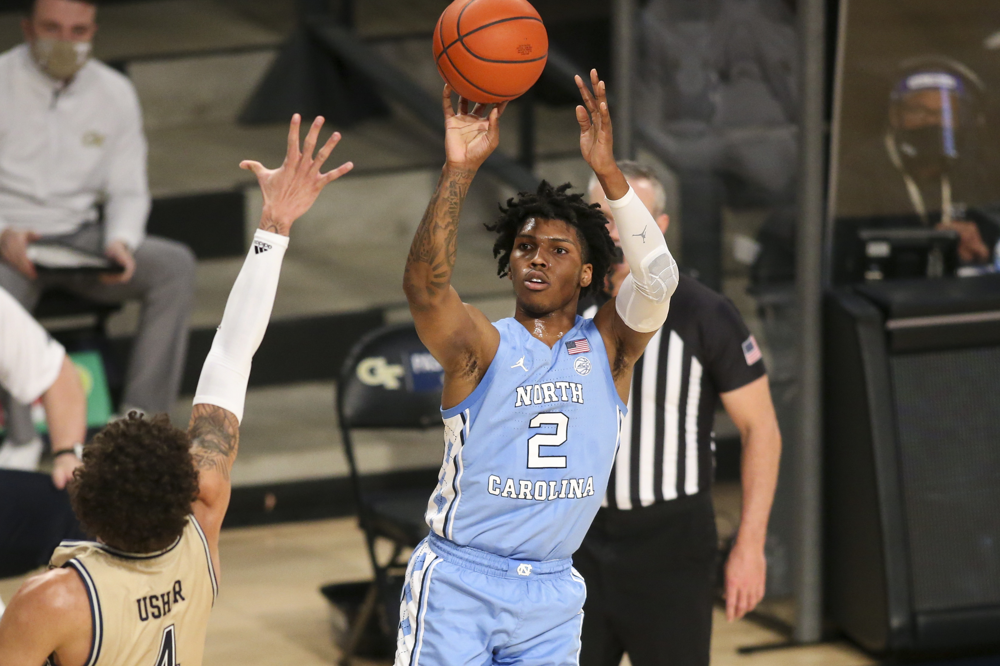 NCAA Basketball: North Carolina at Georgia Tech