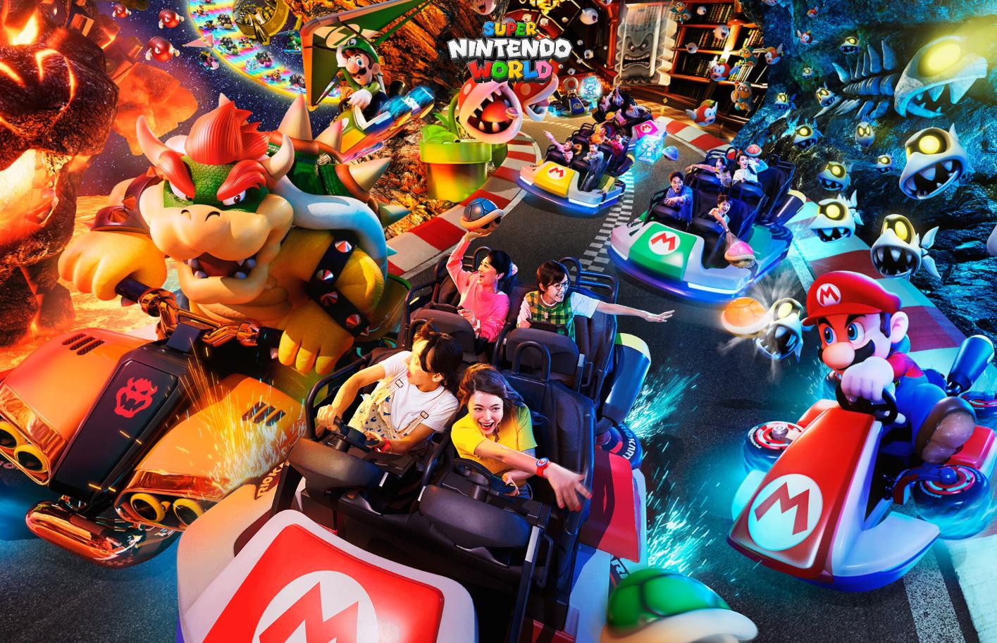Mario Kart Super Nintendo World splash image