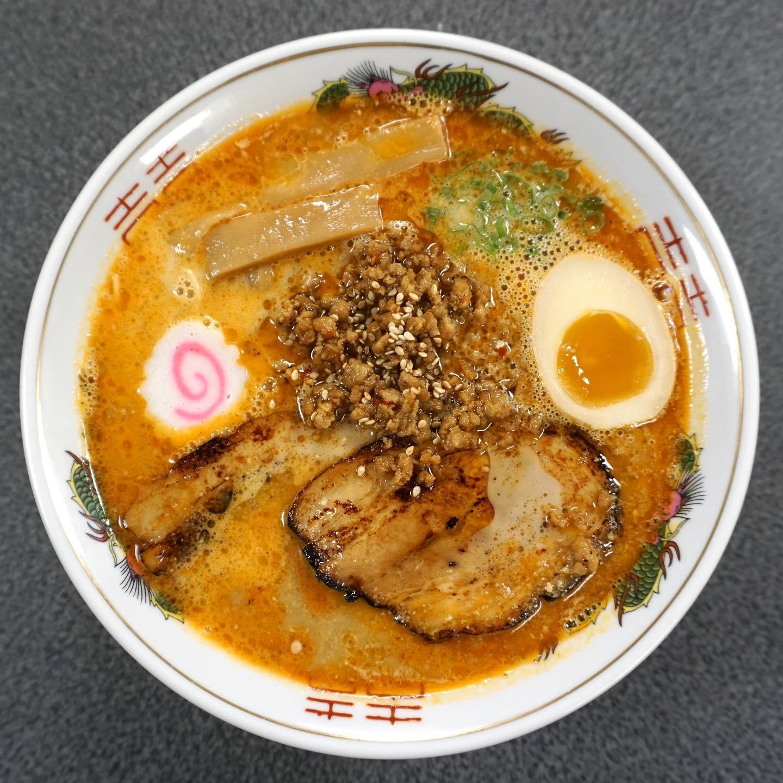 The tonkotsu tan tan men soup from Ramen 512