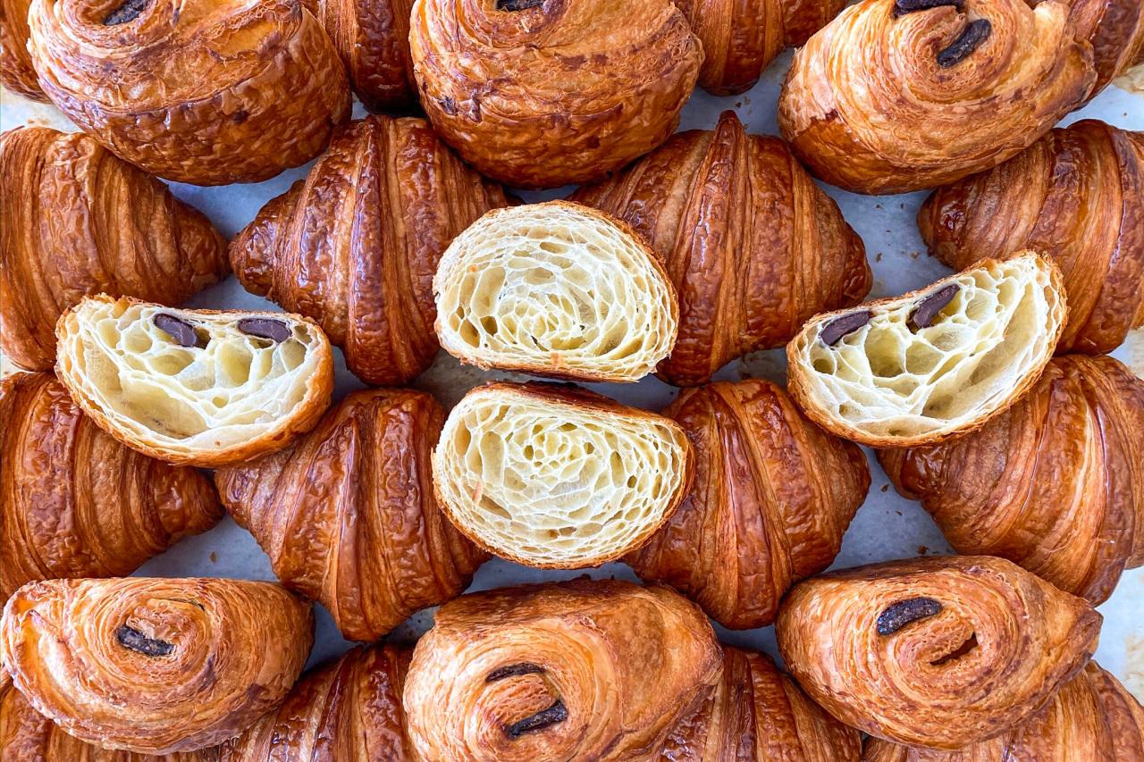 Croissants from Le Marais