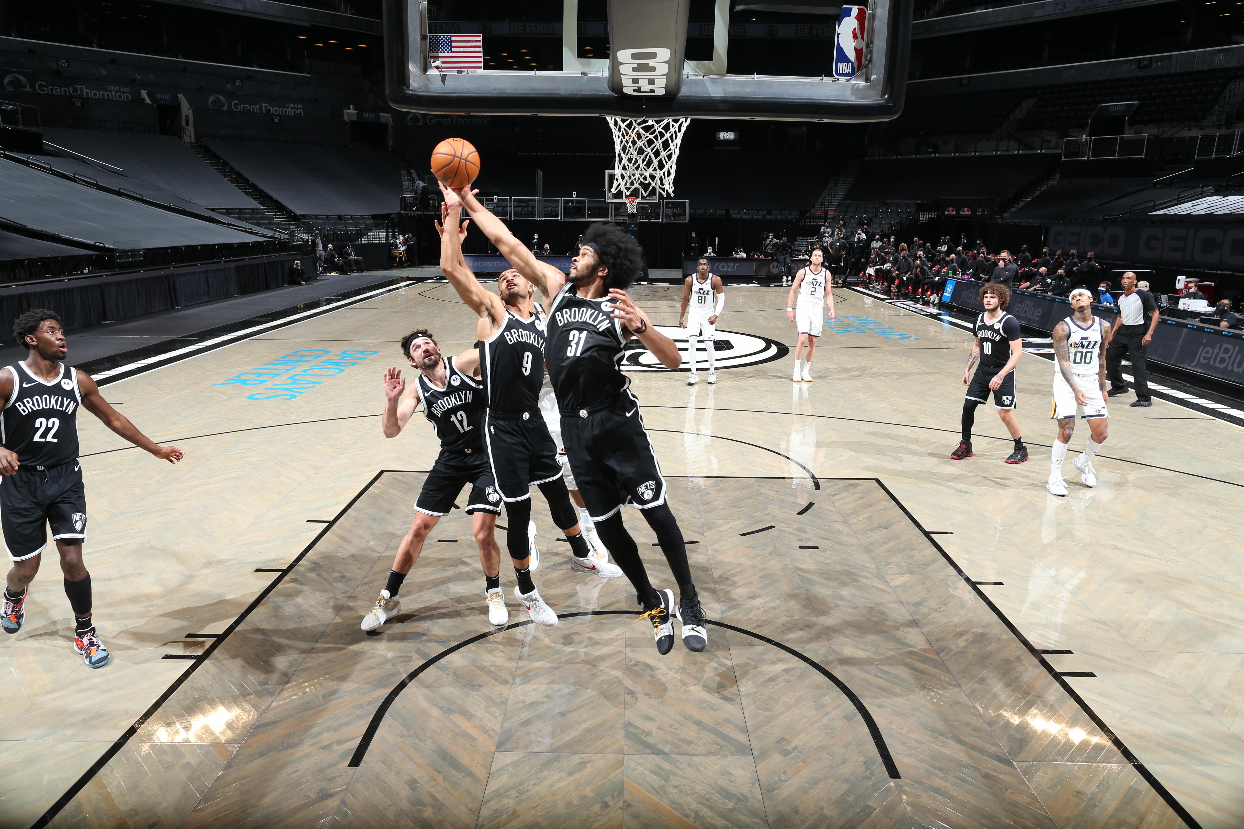 Utah Jazz v Brooklyn Nets