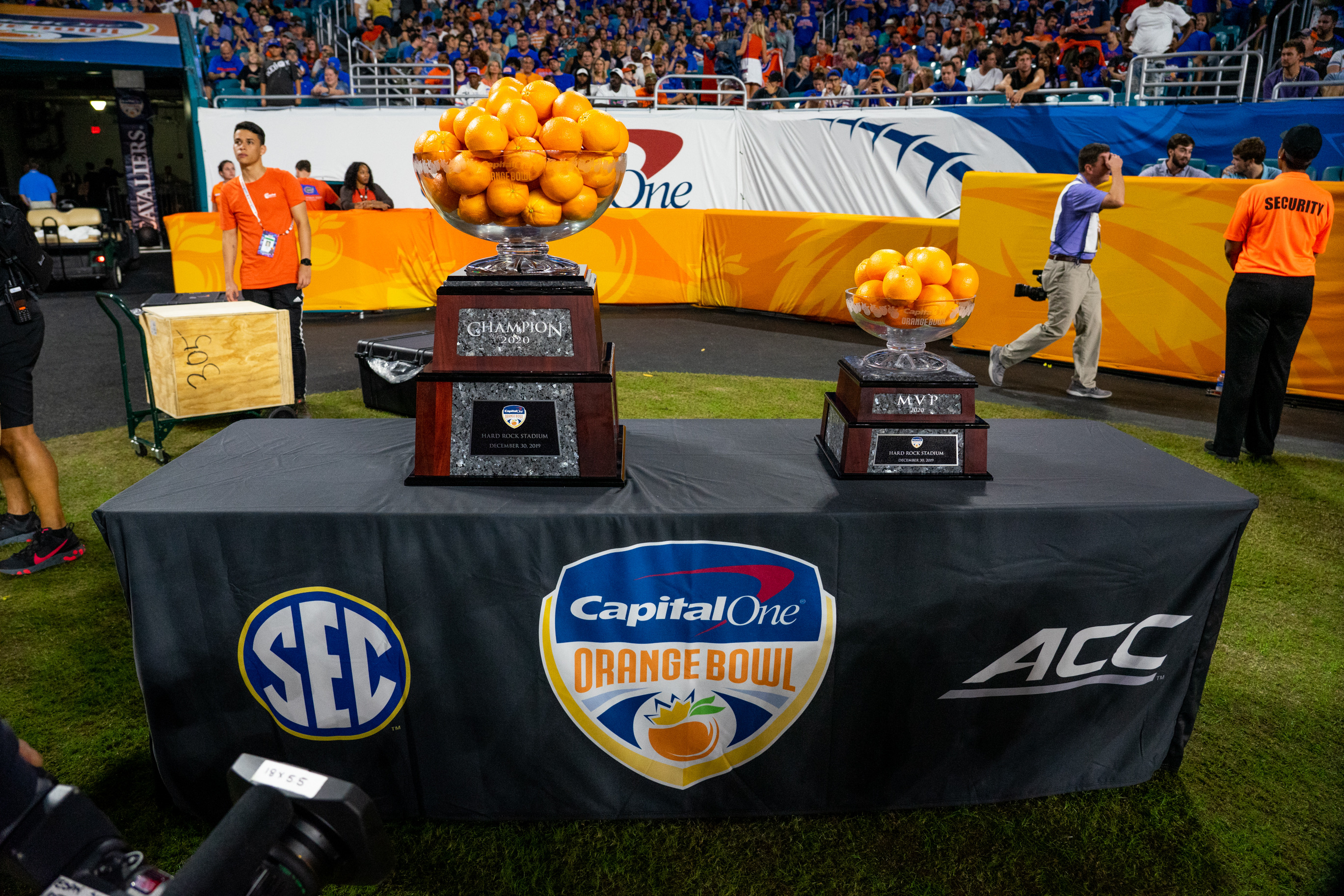 COLLEGE FOOTBALL: DEC 30 Orange Bowl - Florida v Virginia