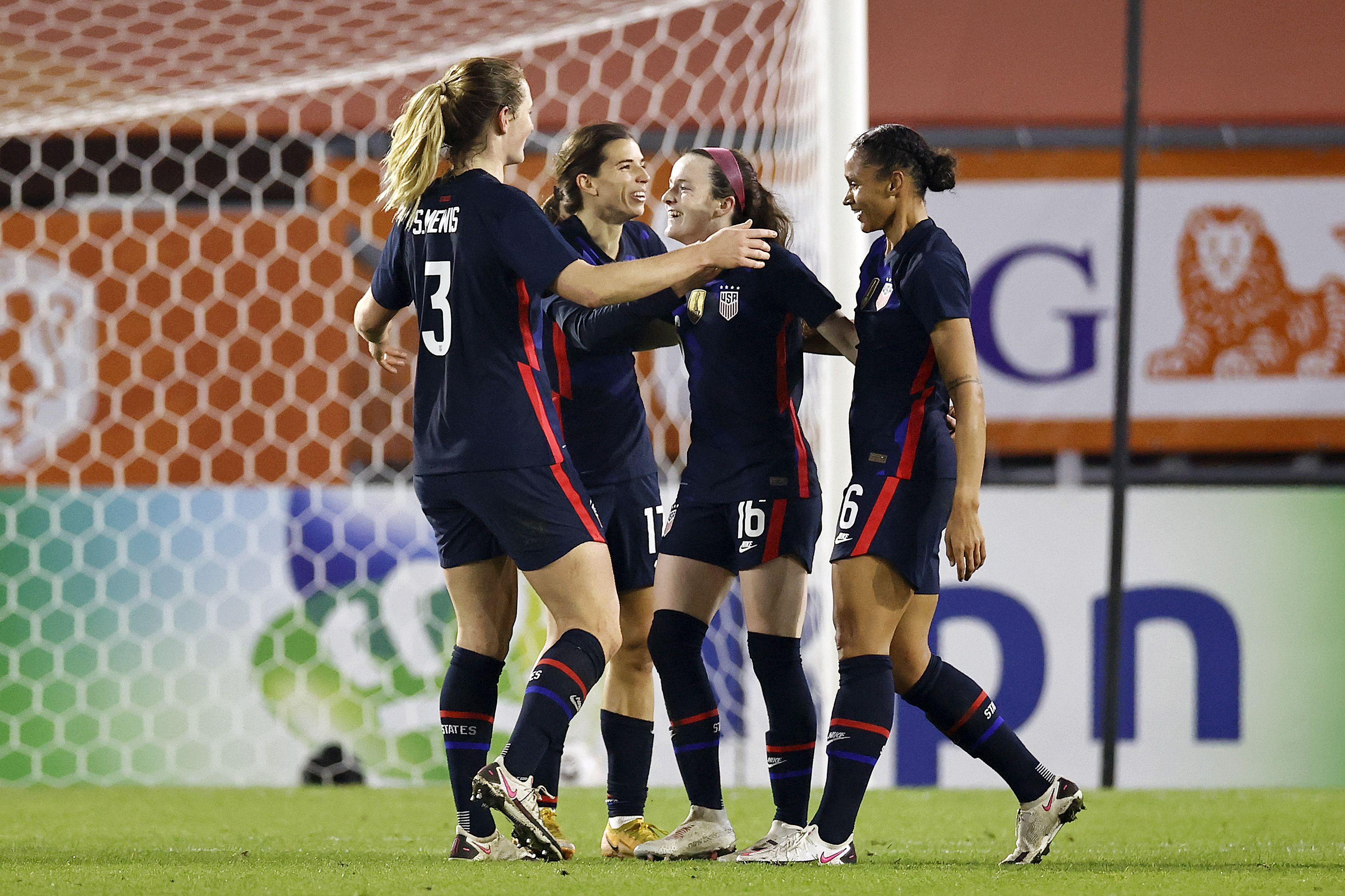 "International friendly match""Women: The Netherlands v United States of America"""
