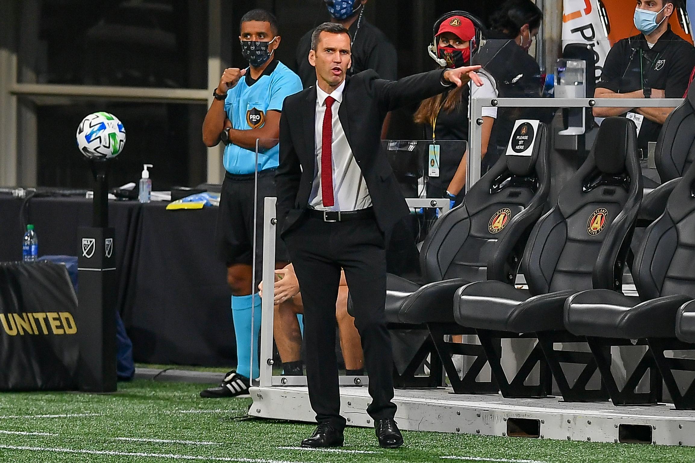 SOCCER: AUG 29 MLS Orlando City SC at Atlanta United FC