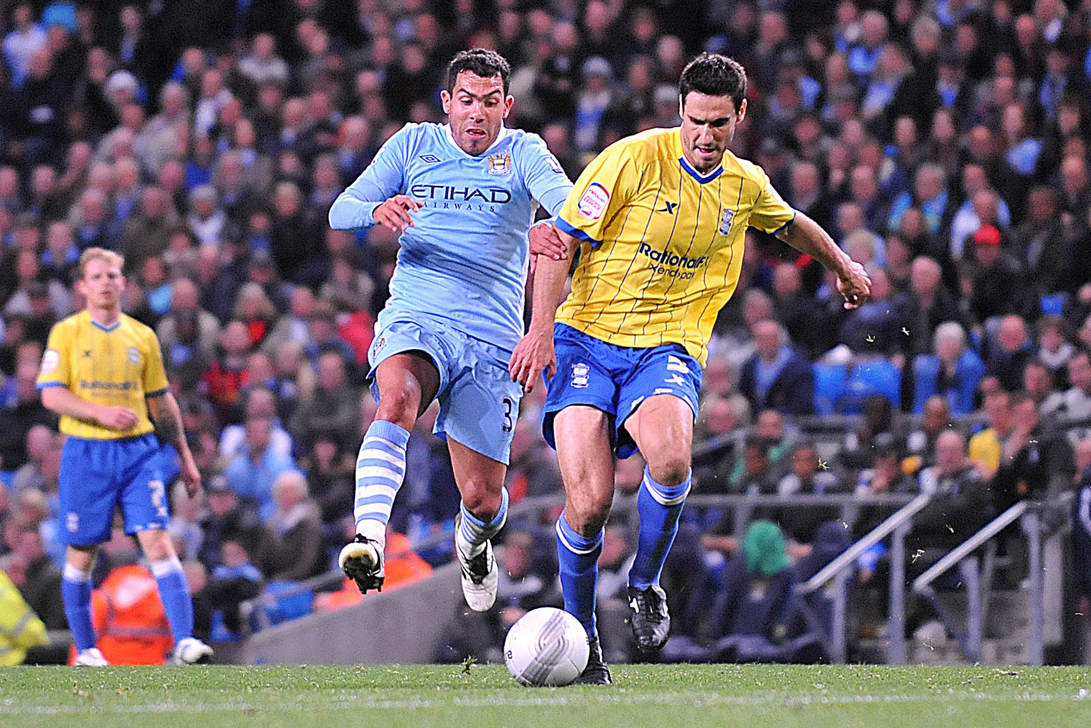 Soccer - Carling Cup - Third Round - Manchester City v Birmingham City - Etihad Stadium
