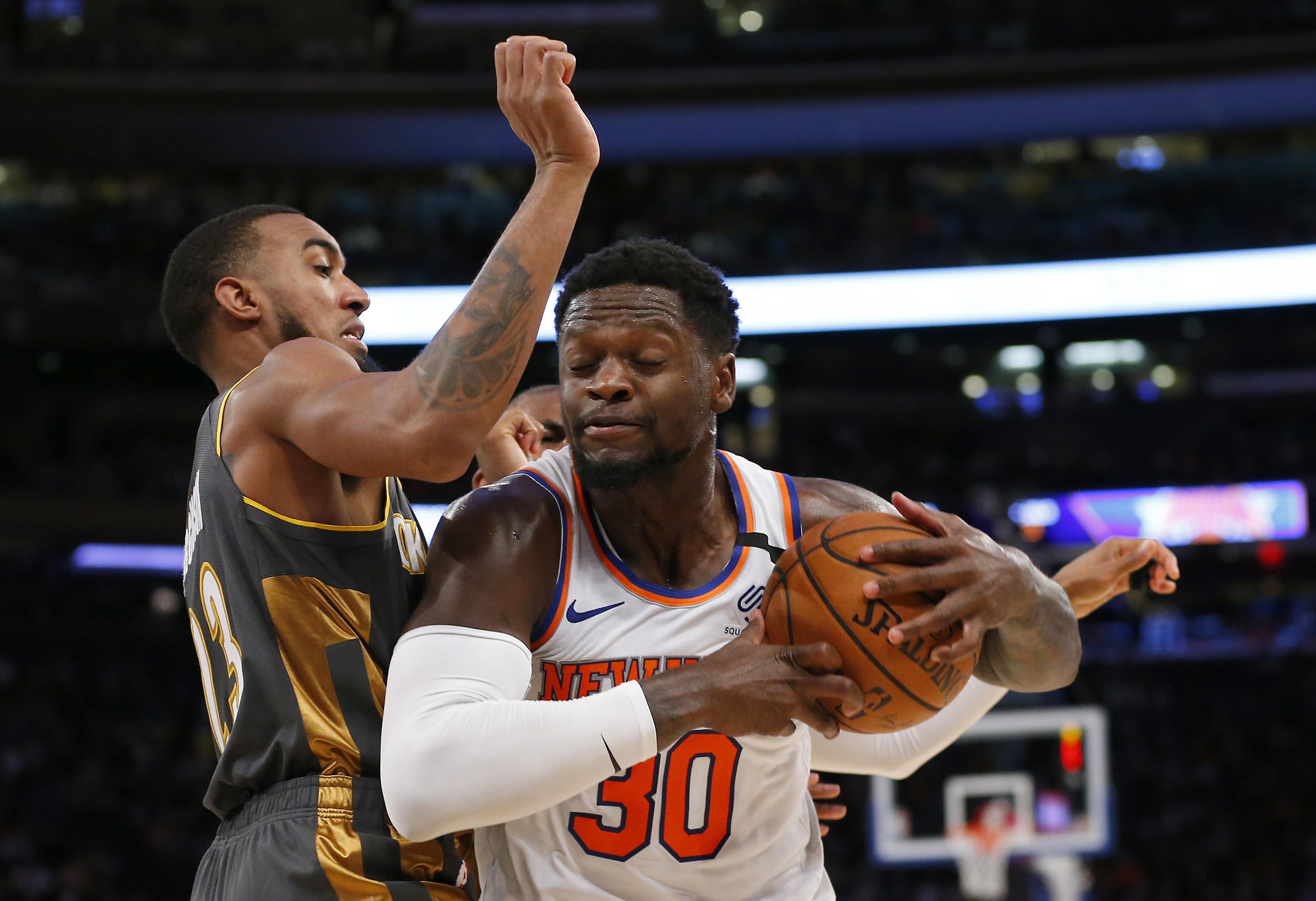 NBA: Oklahoma City Thunder at New York Knicks