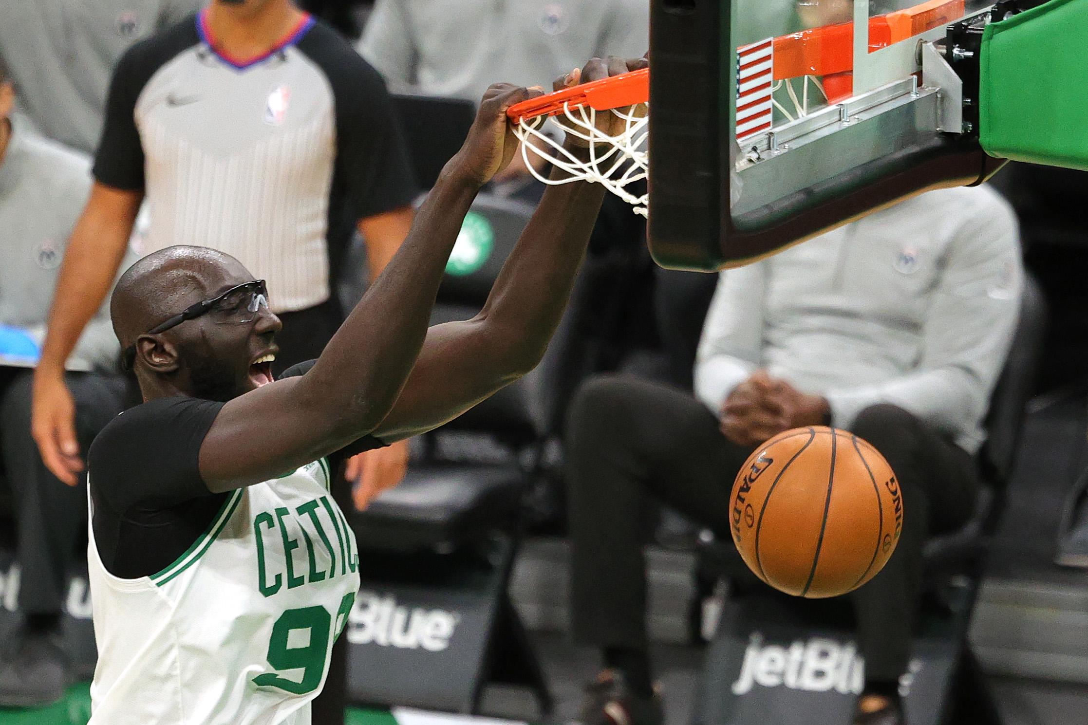 Tacko Fall Washington Wizards v Boston Celtics