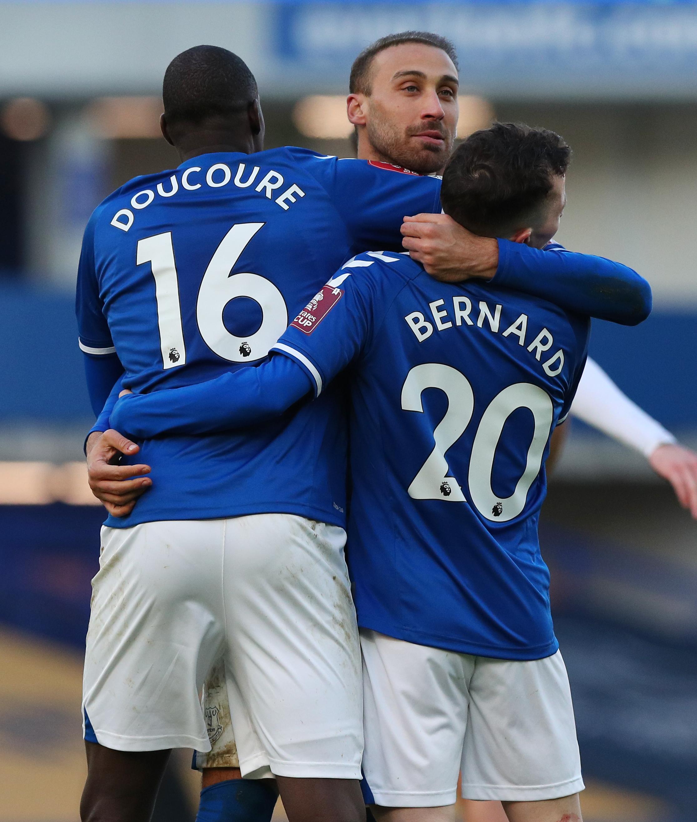 Everton v Rotherham United - Emirates FA Cup - Third Round - Goodison Park