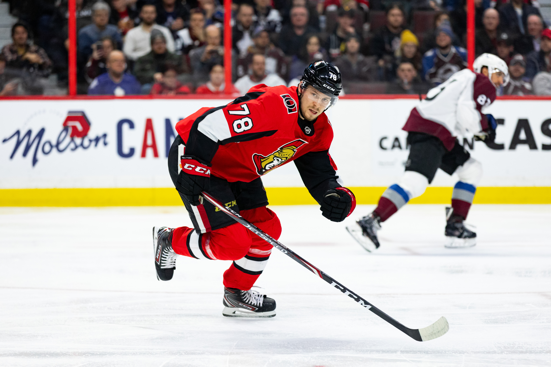 NHL: FEB 06 Avalanche at Senators