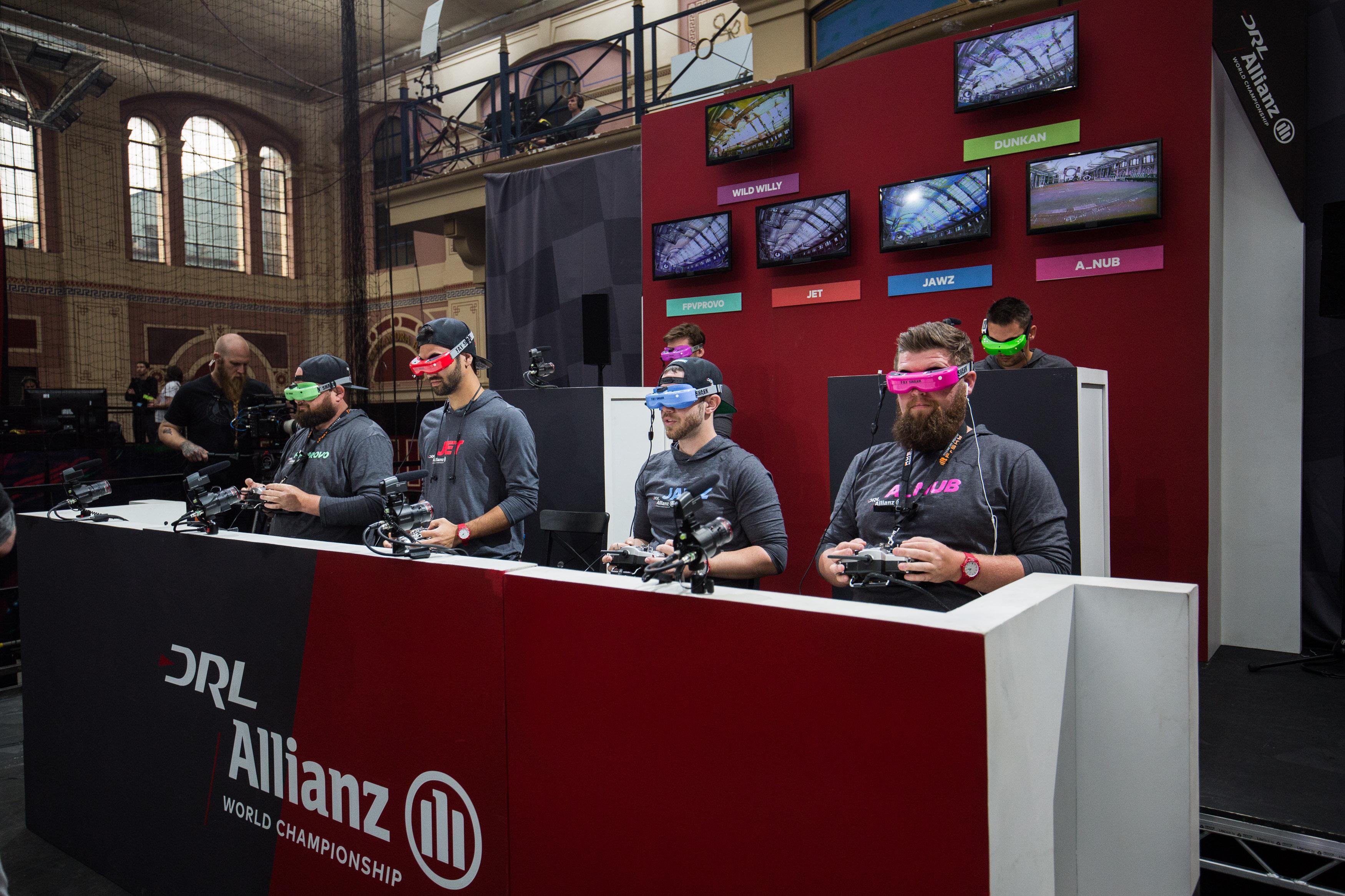 Drone Racing League In London
