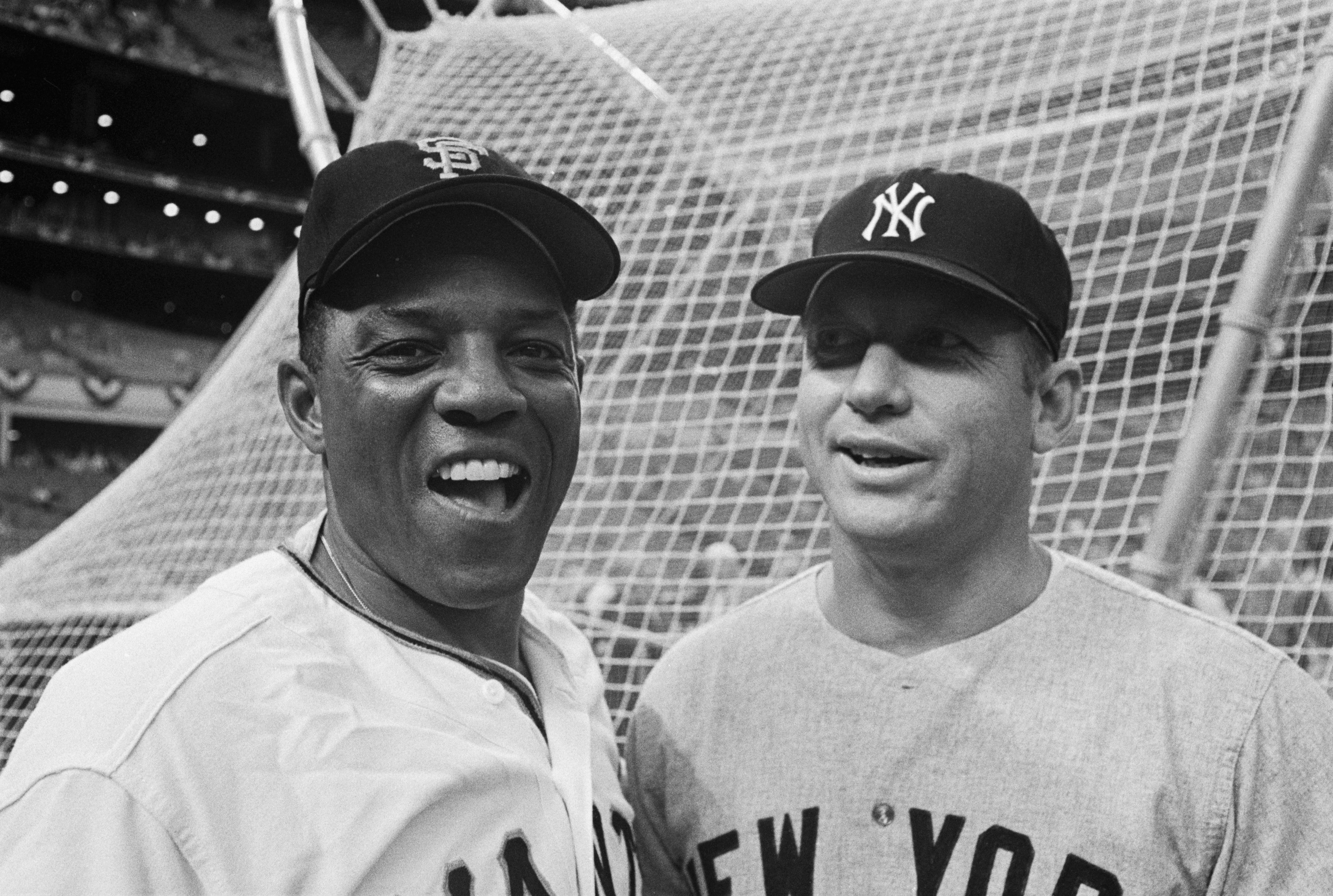 Mays And Mantle At All Star-Game
