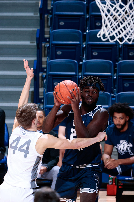 NCAA Basketball: Utah State at Air Force