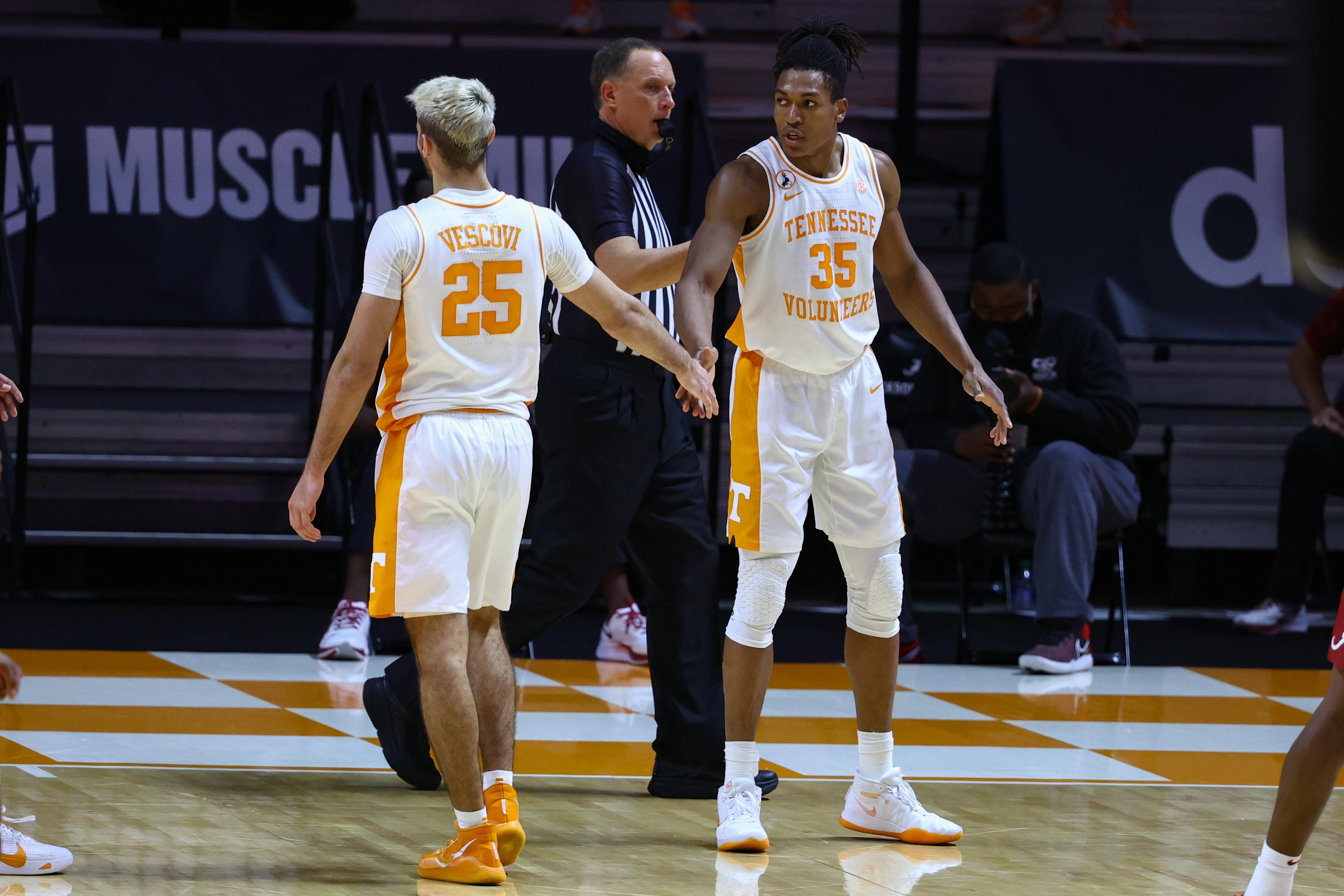 NCAA Basketball: Alabama at Tennessee