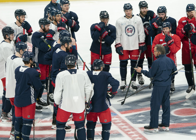 NHL: JAN 04 Blue Jackets Training Camp