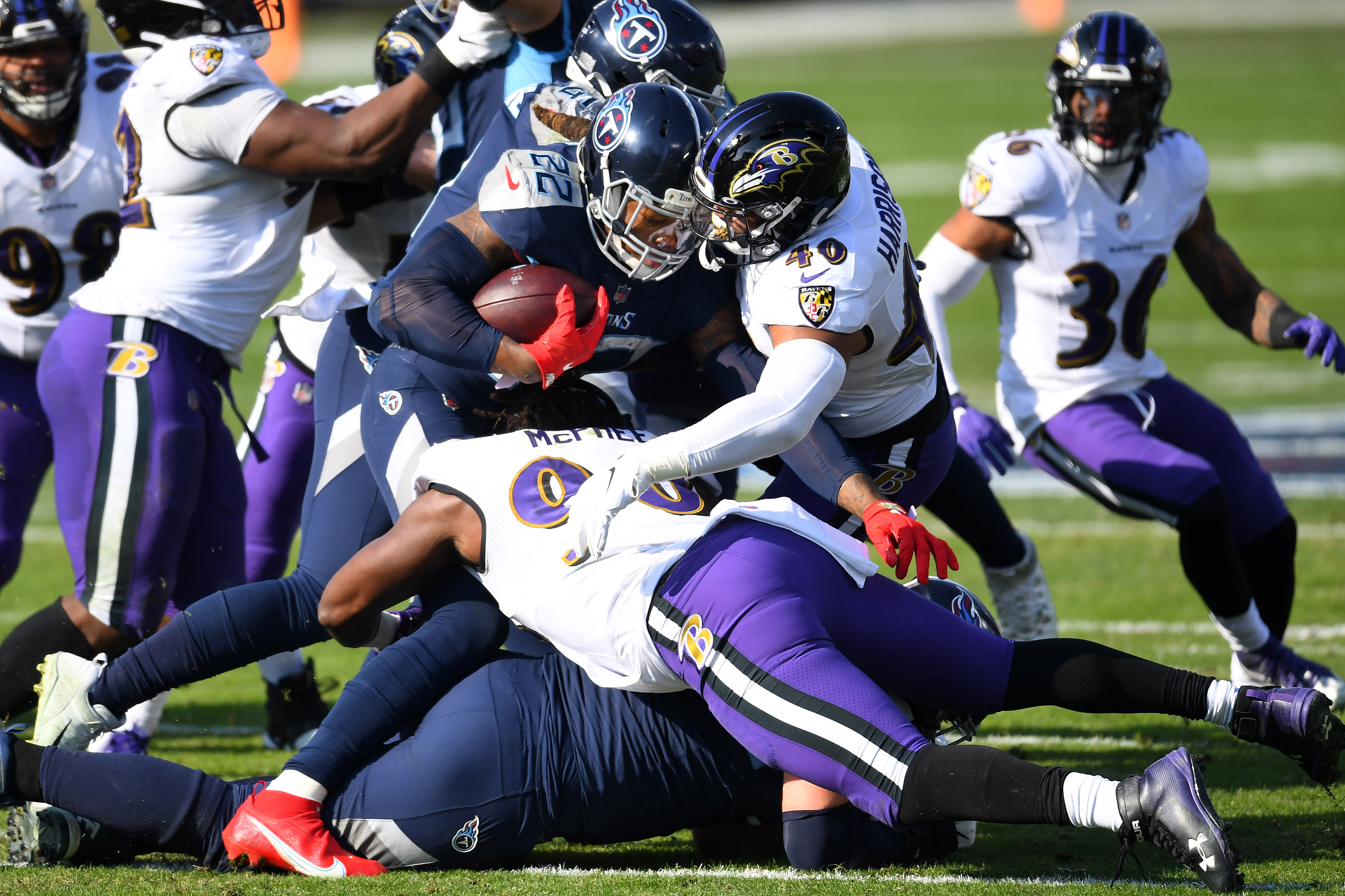 NFL: AFC Wild Card Round-Baltimore Ravens at Tennessee Titans