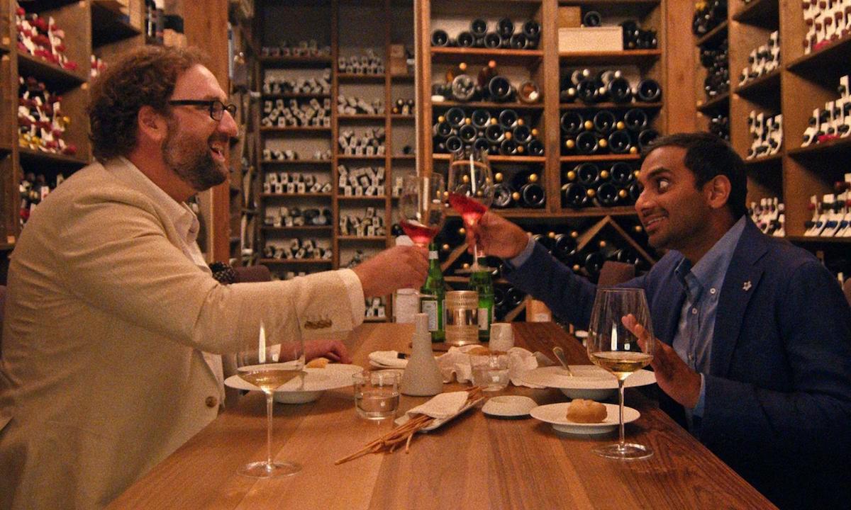 Eric Wareheim and Aziz Ansari on 'Master of None' at Osteria Francescana in Modena