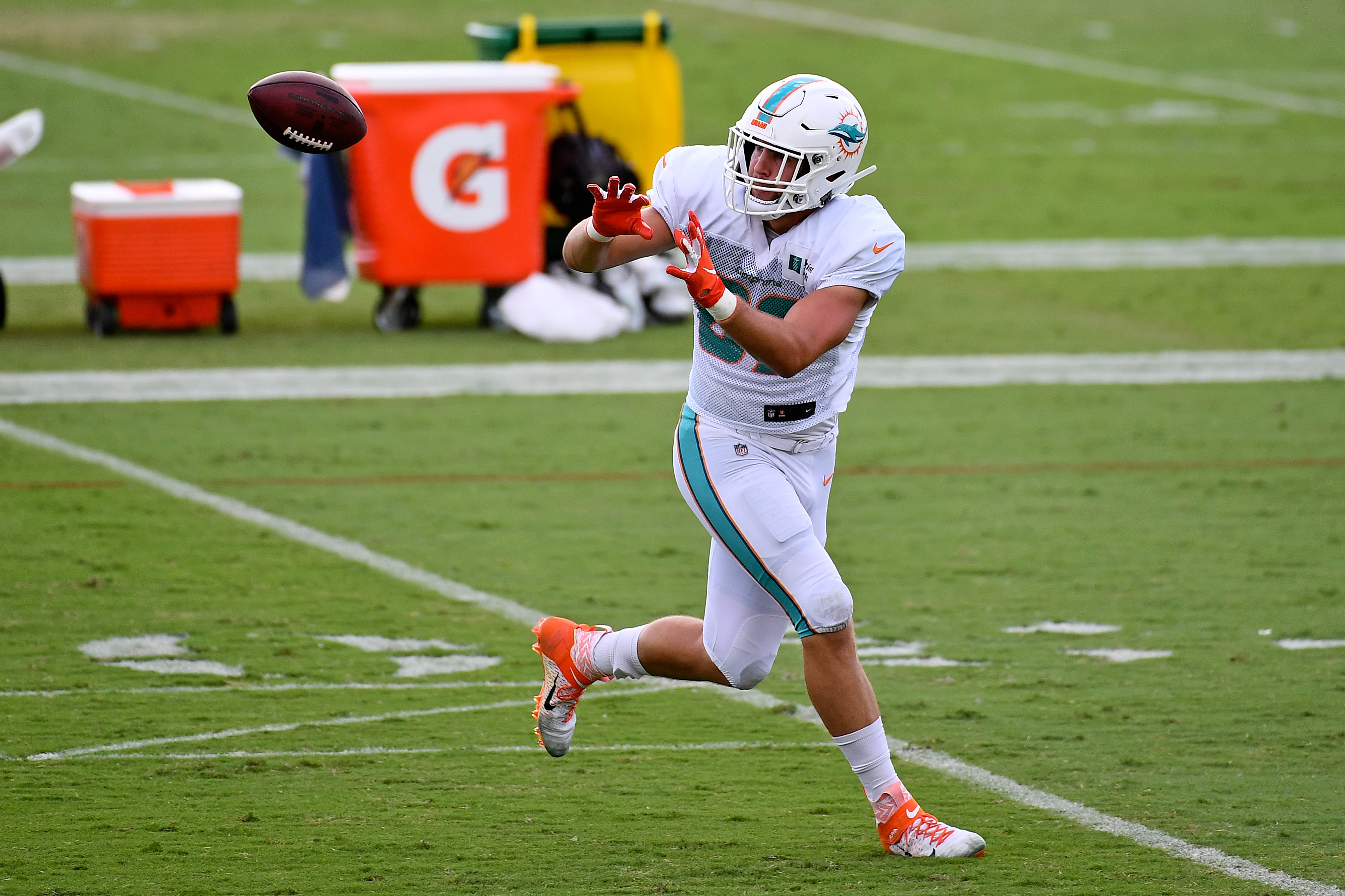 NFL: Miami Dolphins-Training Camp