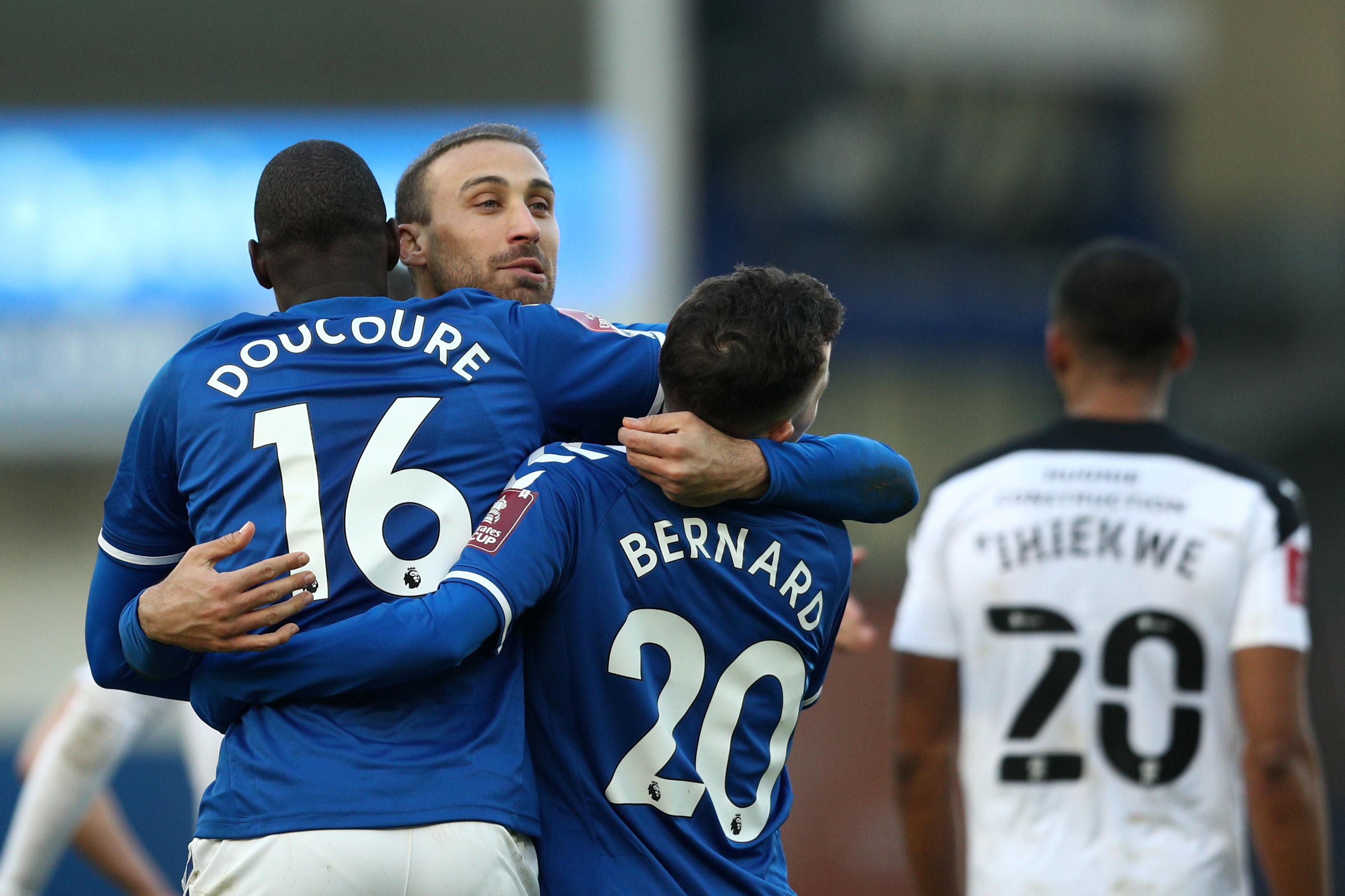 Everton v Rotherham United - FA Cup Third Round