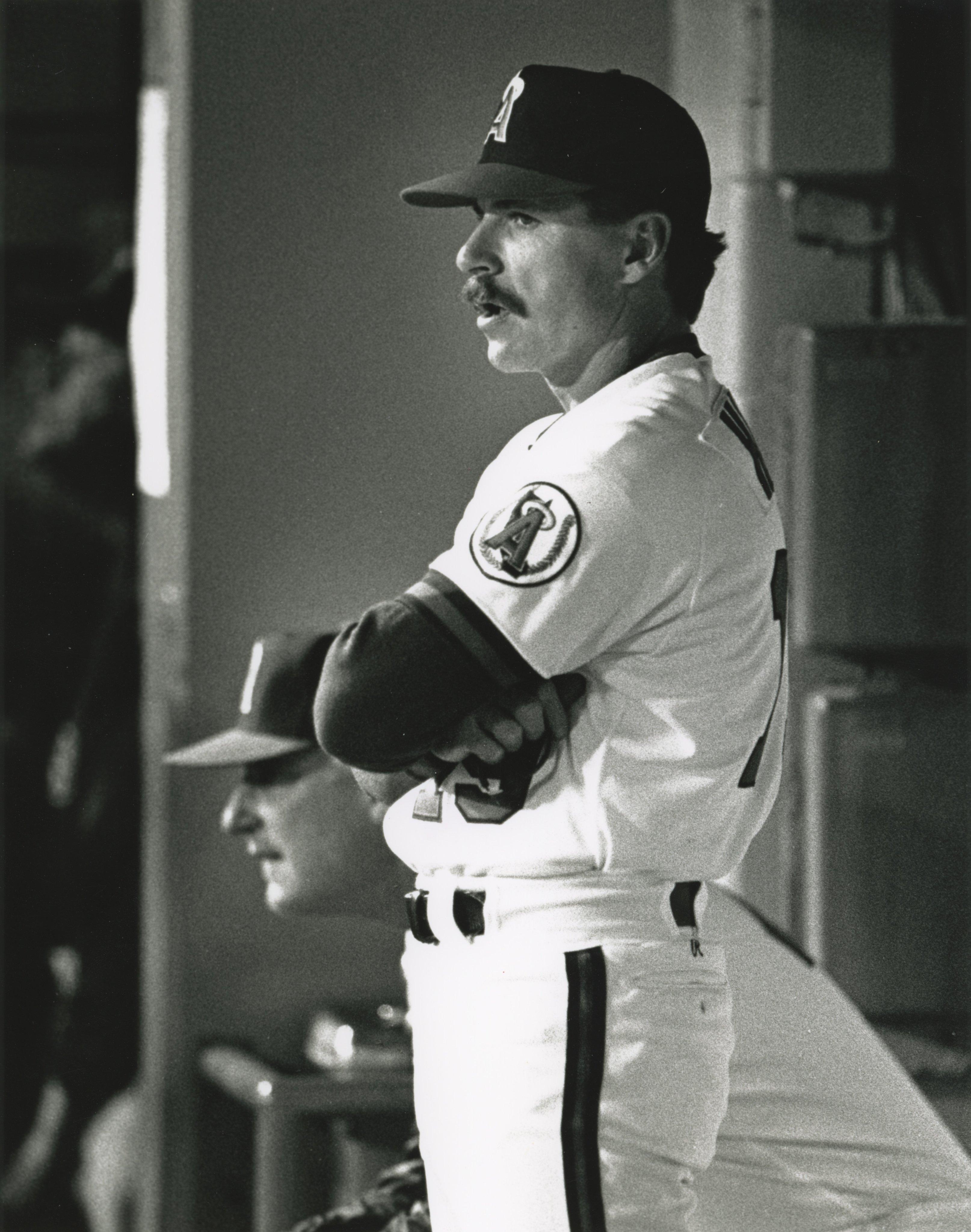 Angels coach Bruce Hines